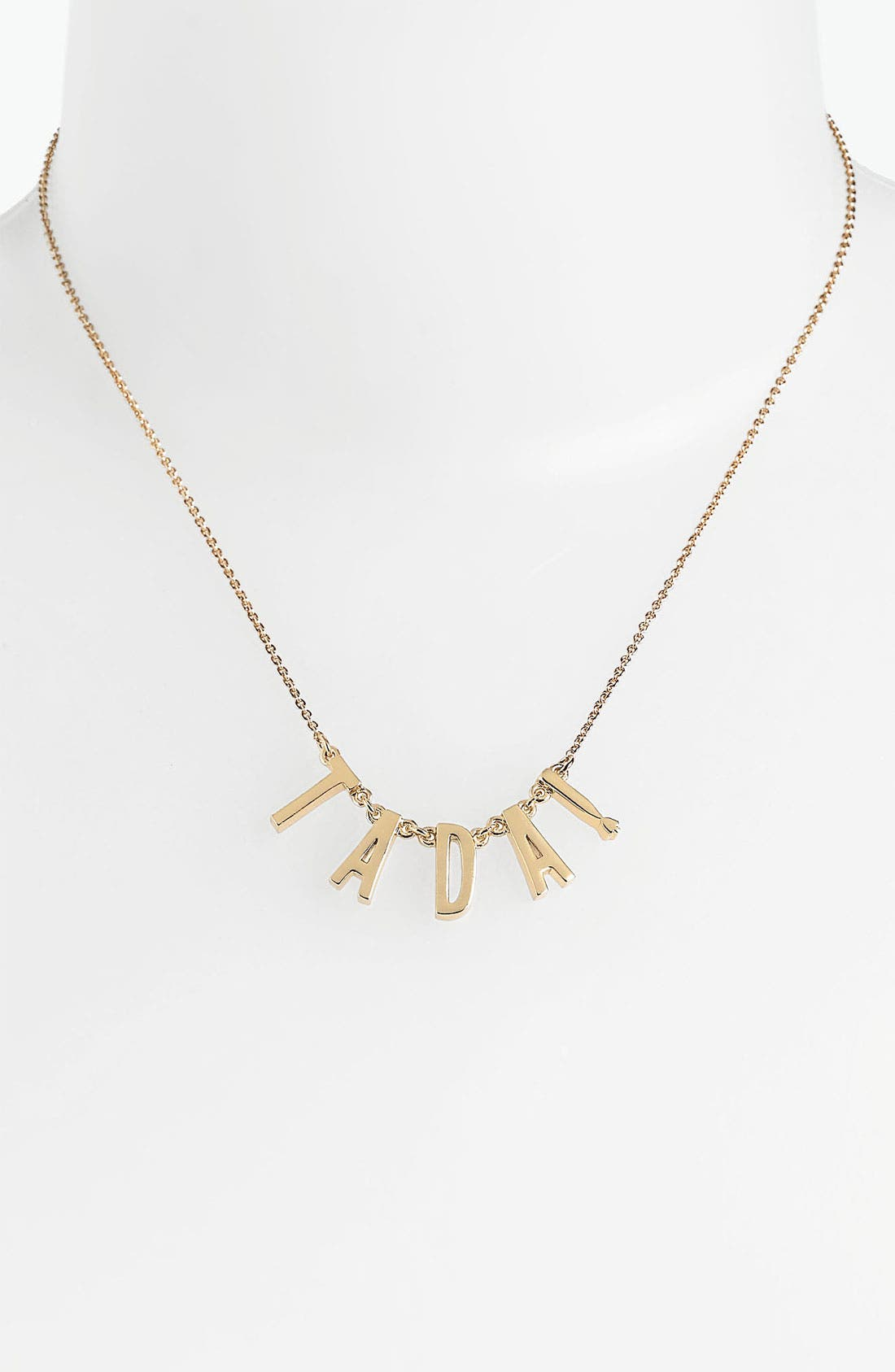 Alternate Image 1 Selected - kate spade new york 'say yes' station necklace