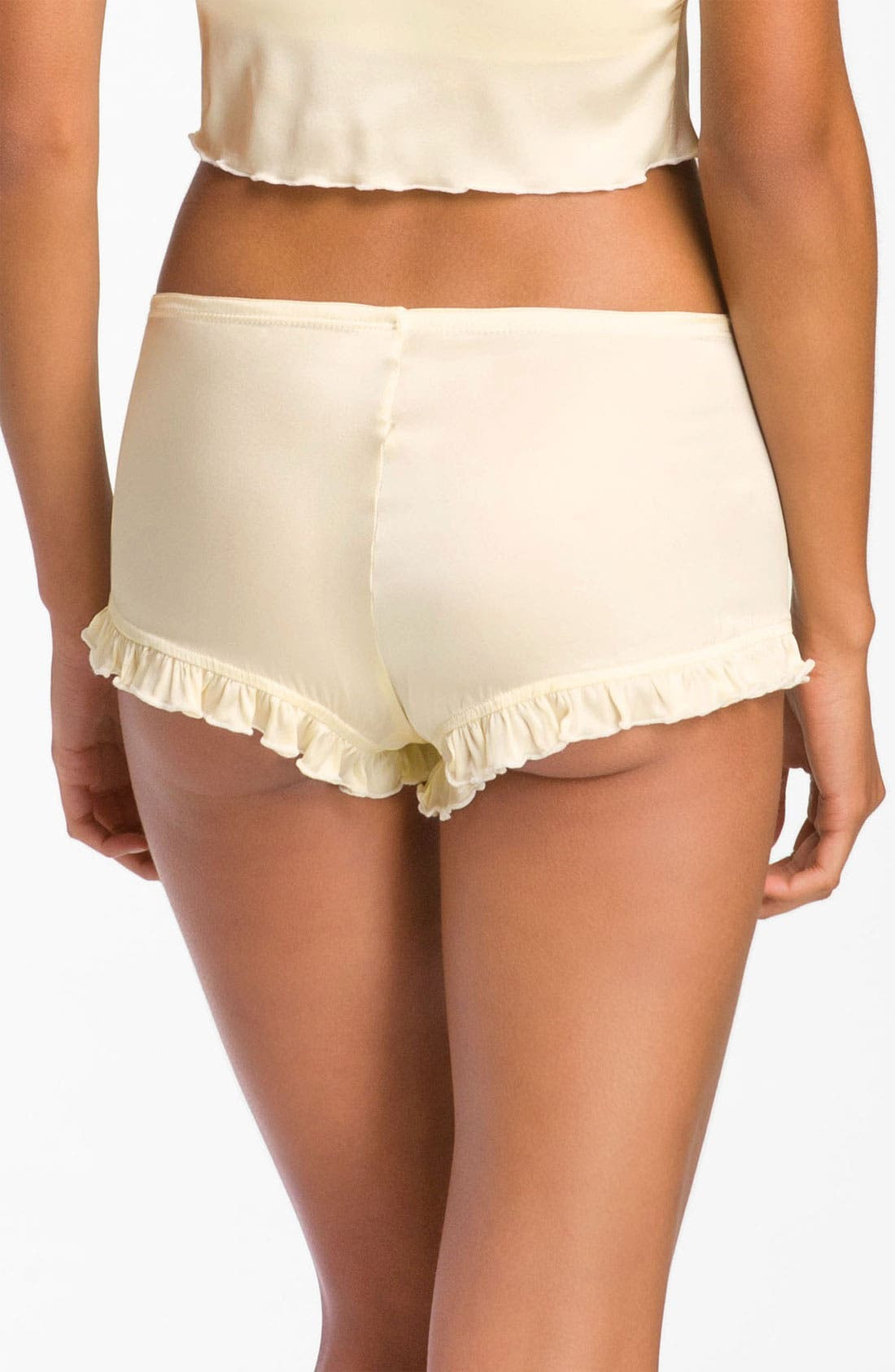 Alternate Image 2  - Zinke 'Tulsa' Silk Charmeuse Boyshorts