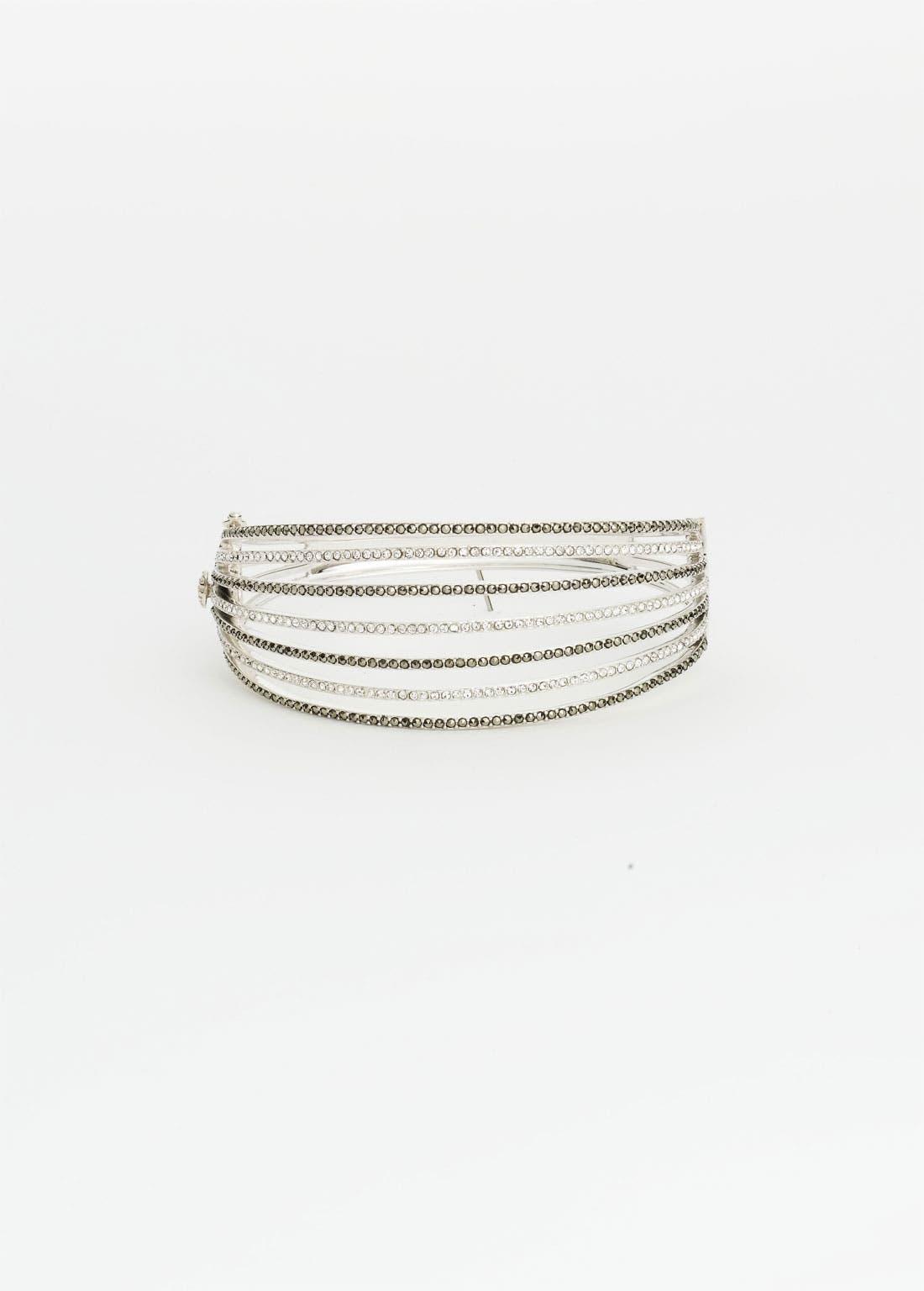 Alternate Image 1 Selected - Judith Jack 'Crystal Glitz' Bangle Bracelet