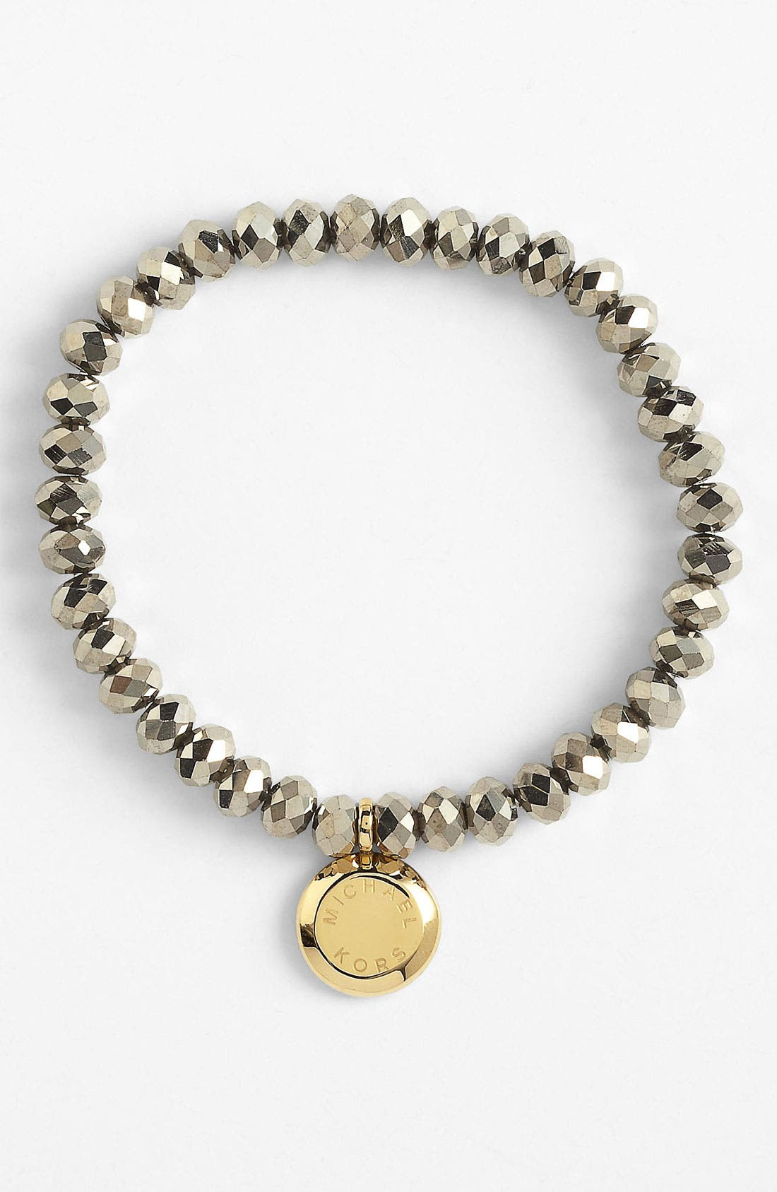 Alternate Image 1 Selected - Michael Kors 'Brilliance' Charm Bead Stretch Bracelet