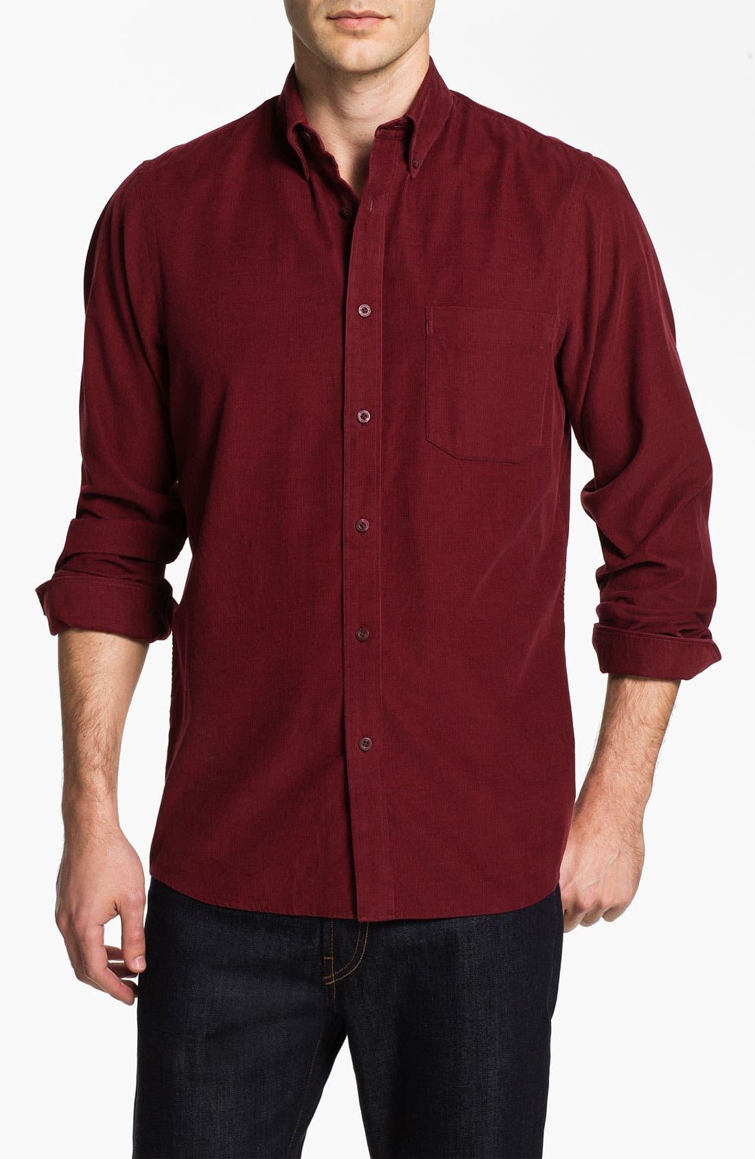 Alternate Image 1 Selected - Nordstrom Regular Fit Corduroy Sport Shirt