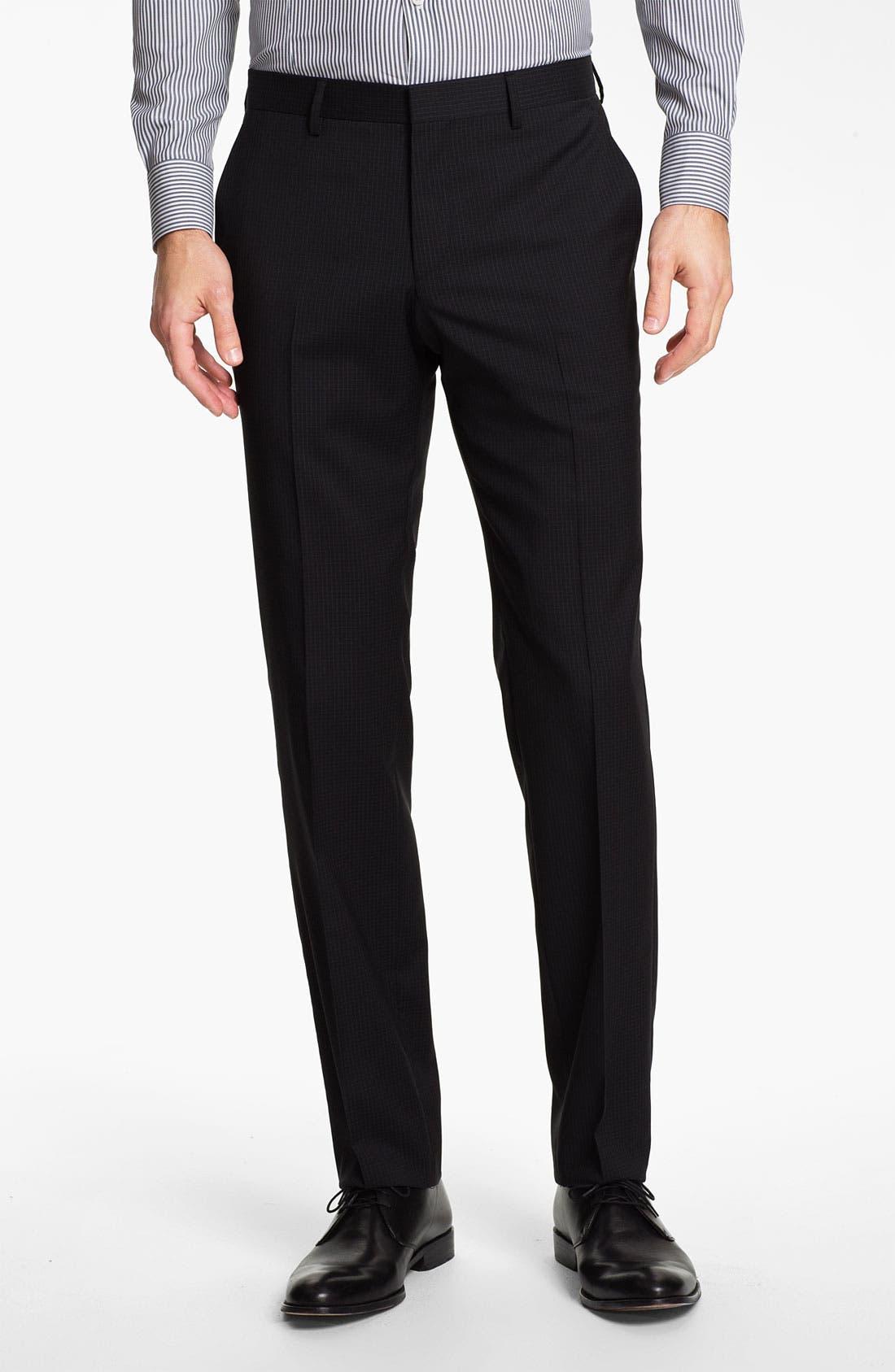 Alternate Image 4  - BOSS Black 'Huge/Genius' Trim Fit Suit