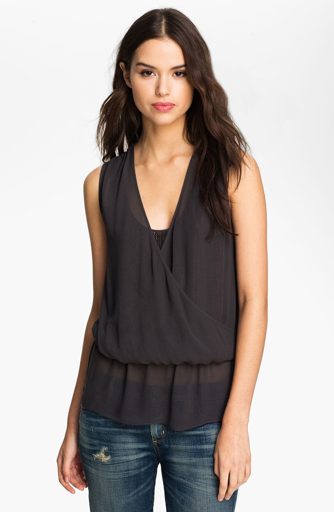 Main Image - Heed Layered Sequin & Chiffon Goddess Tank