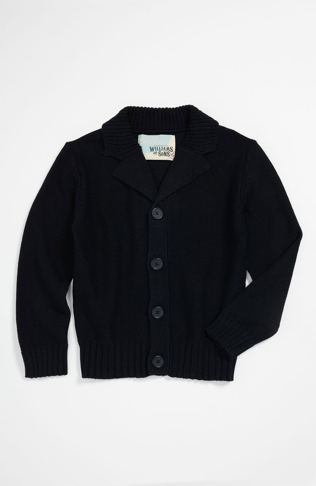 Alternate Image 1 Selected - Peek 'Grant' Cardigan (Toddler, Little Boys & Big Boys)