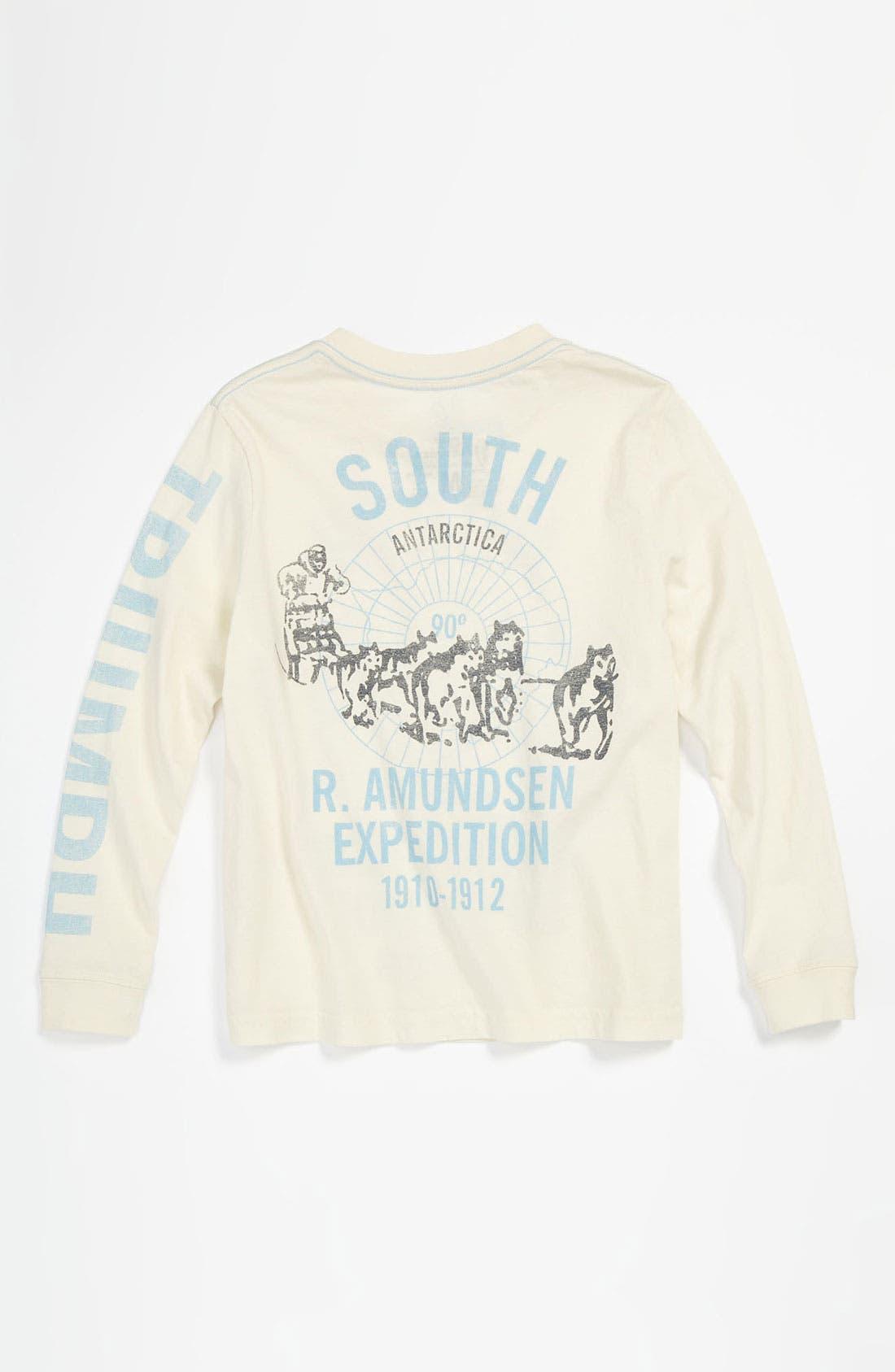 Alternate Image 2  - Peek 'North Pole' T-Shirt (Toddler, Little Boys & Big Boys)