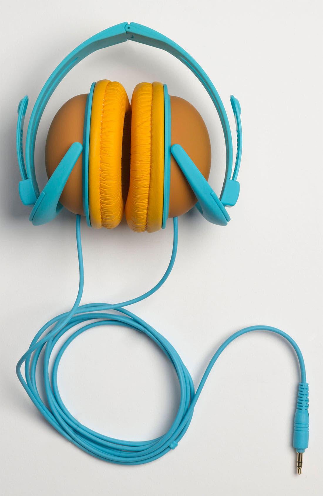 Alternate Image 4  - Decor Craft Colorblock Headphones