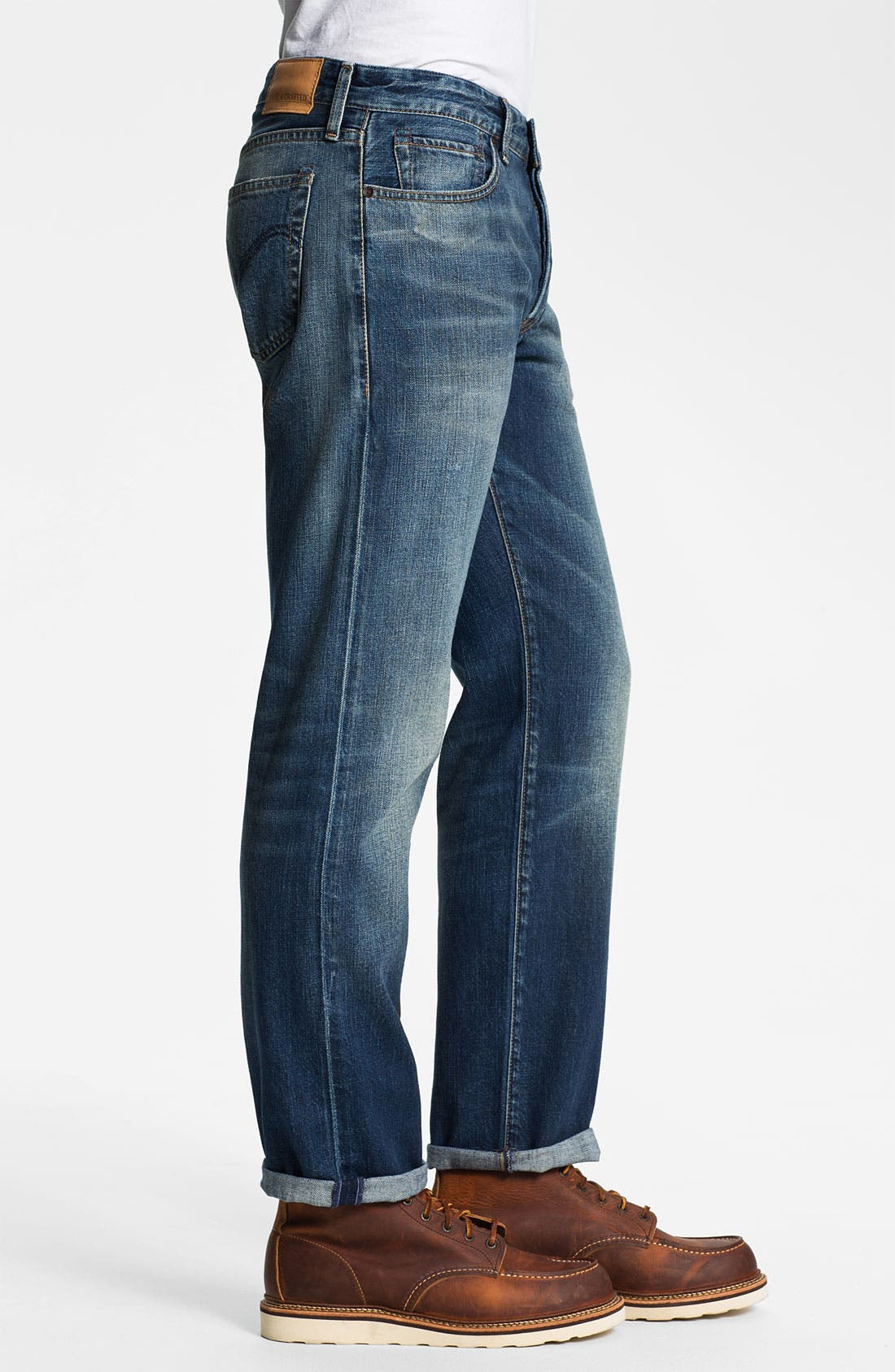 Alternate Image 3  - Levi's® Made & Crafted™ 'Ruler' Straight Leg Jeans (Sparkling)