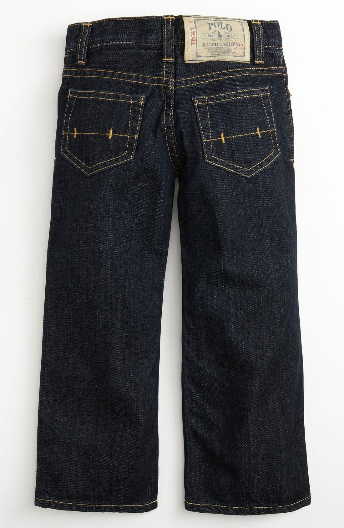 Main Image - Ralph Lauren Skinny Leg Jeans (Toddler)