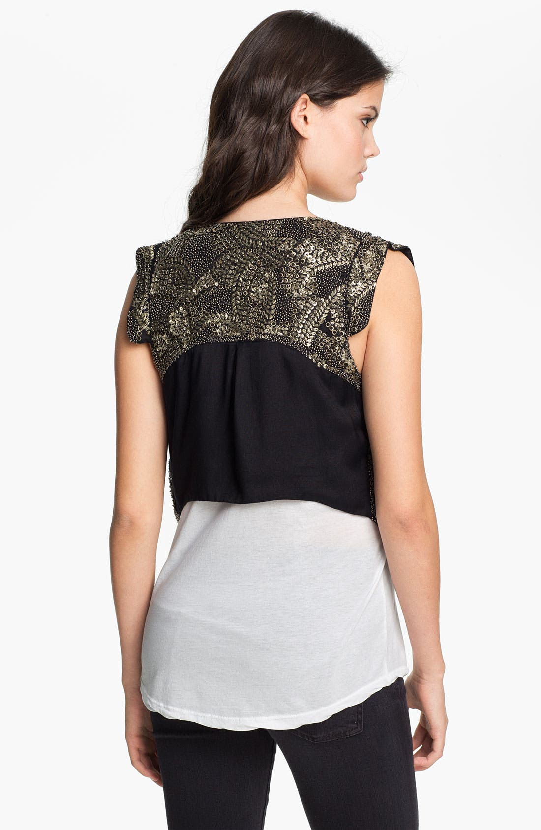 Alternate Image 2  - Maison Scotch Embellished Vest