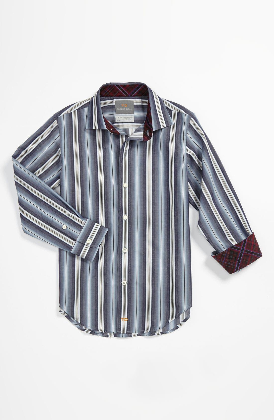 Main Image - Thomas Dean Dress Shirt (Little Boys & Big Boys)