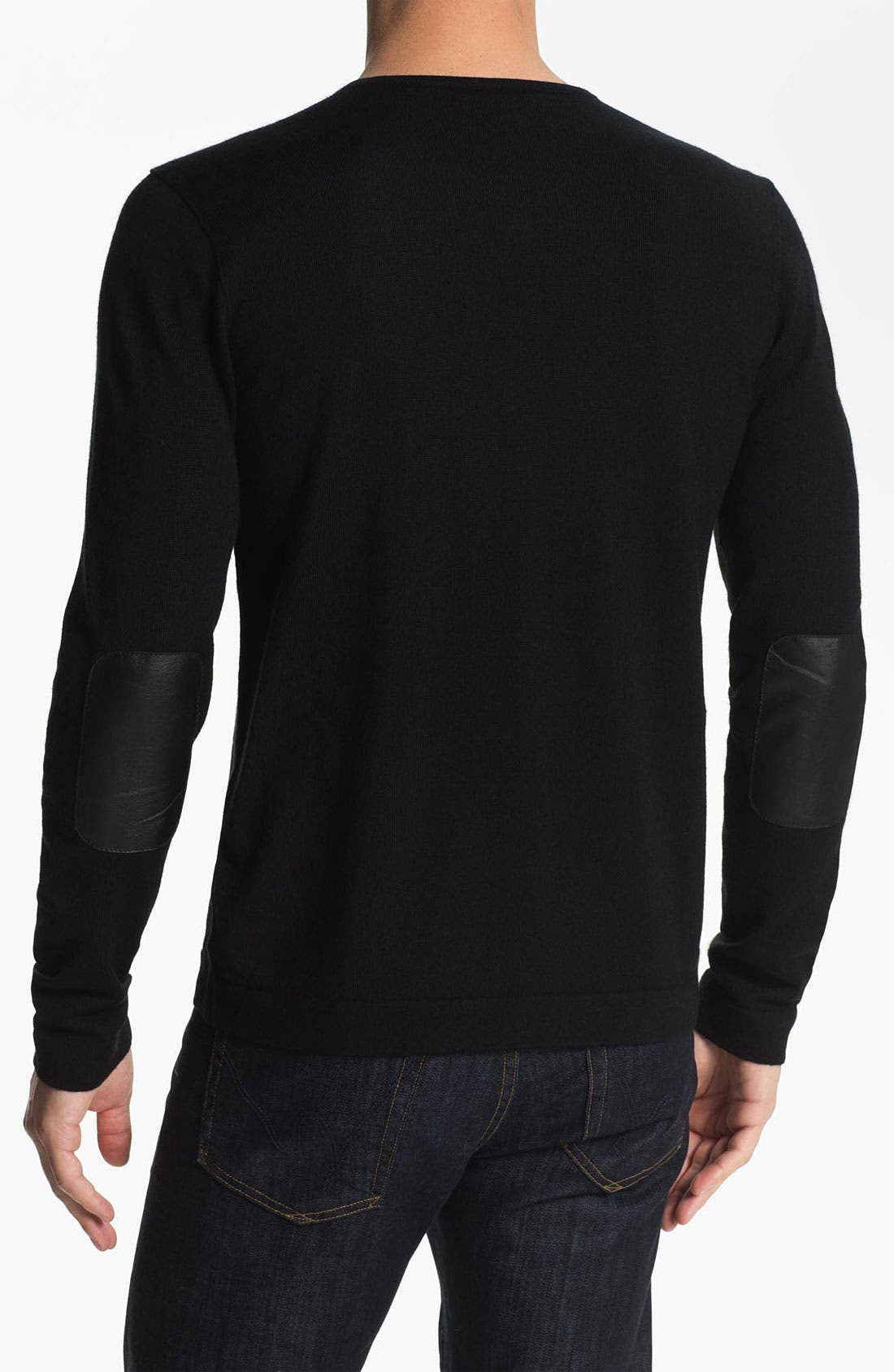 Alternate Image 2  - John Varvatos Star USA Trim Fit Crewneck Sweater