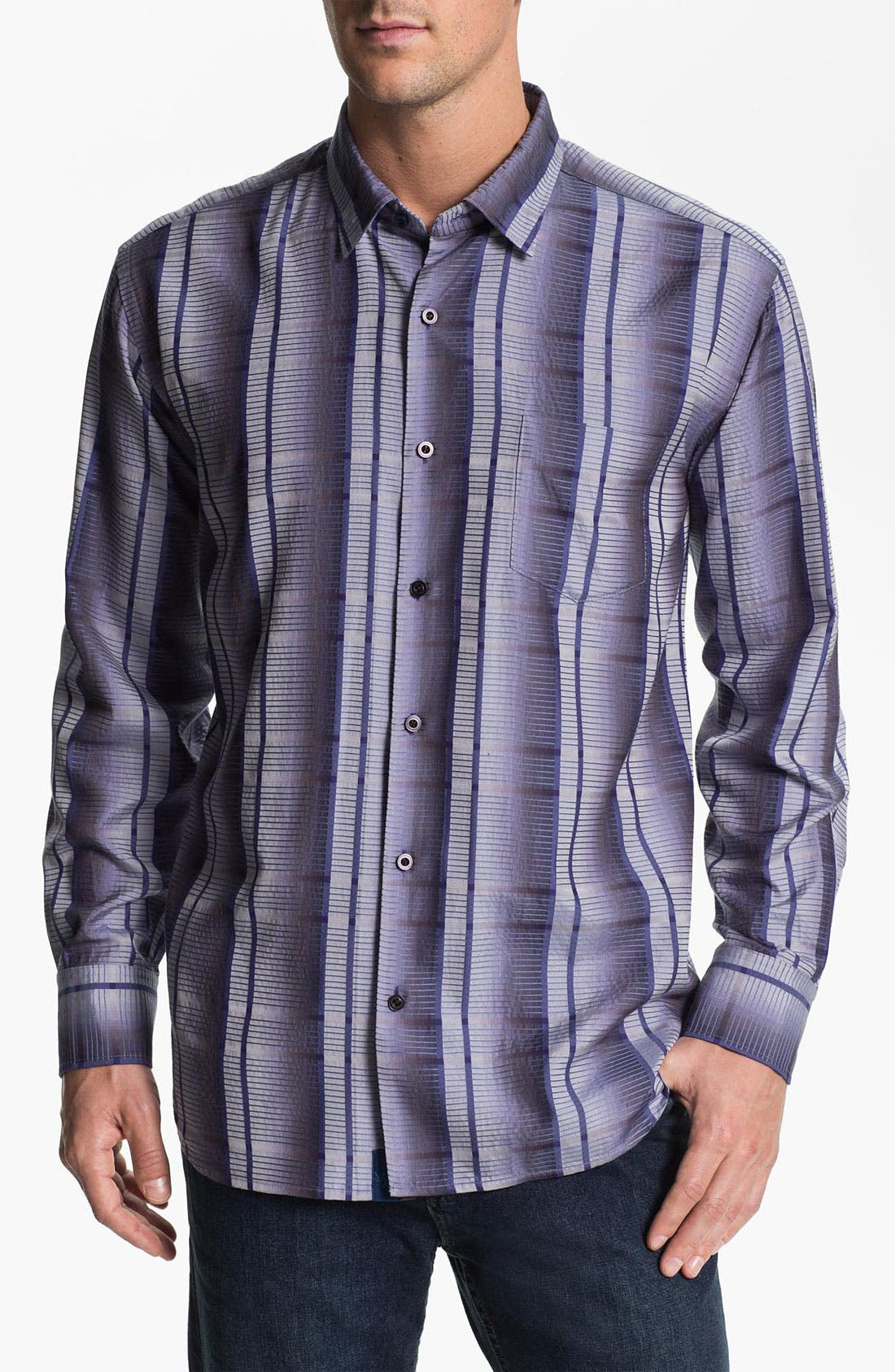 Alternate Image 1 Selected - Tommy Bahama 'Crown Jewel' Sport Shirt