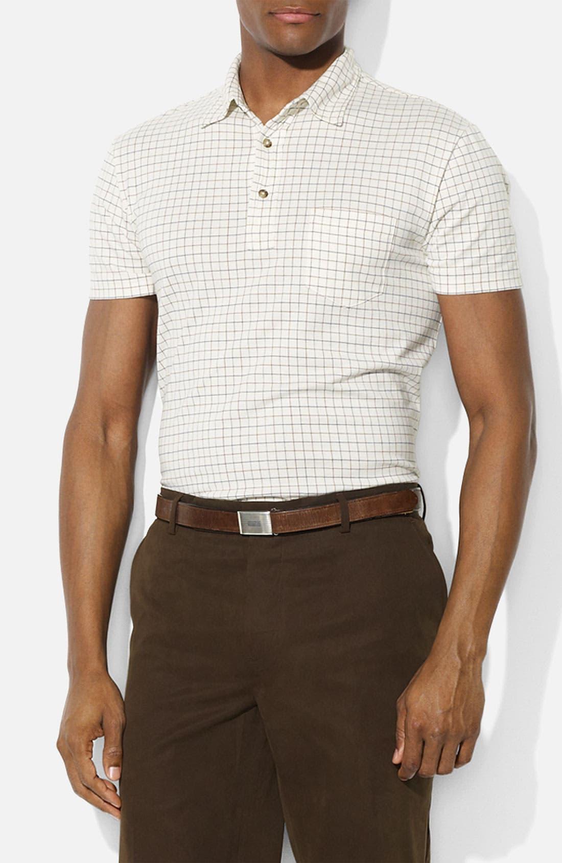 Alternate Image 1 Selected - Polo Ralph Lauren Tattersall Pattern Polo