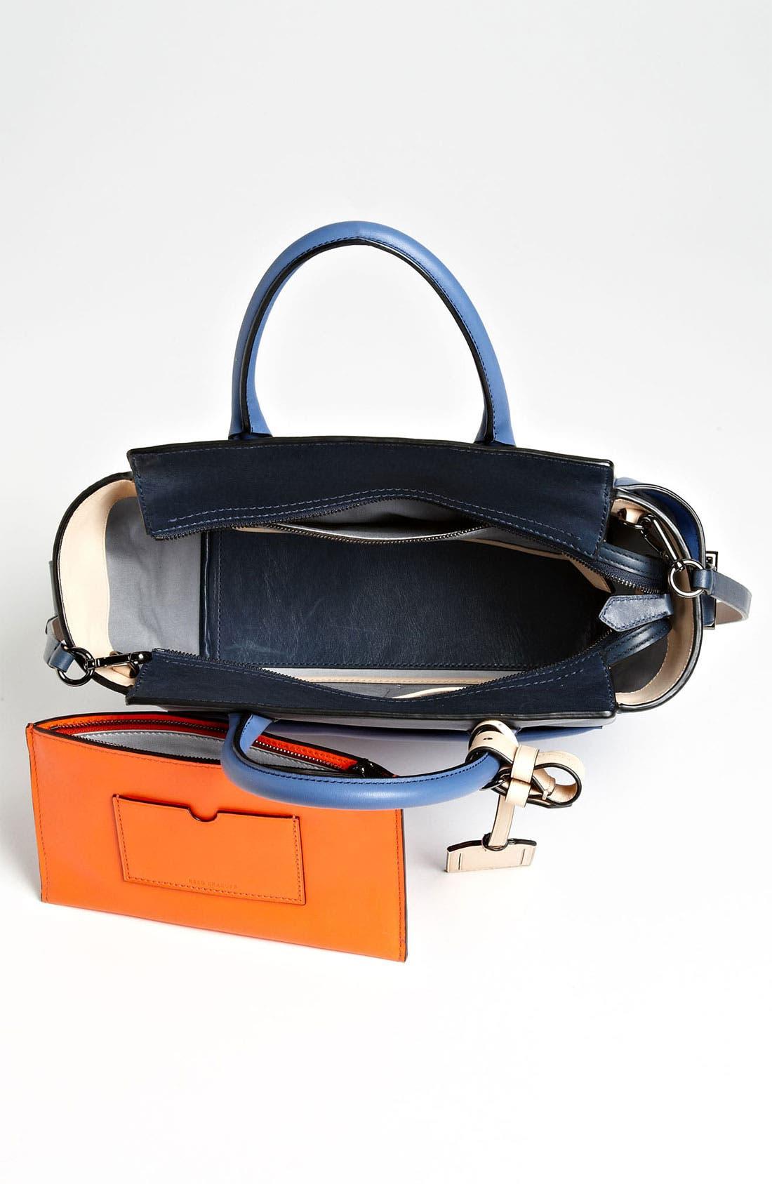 Alternate Image 3  - Reed Krakoff 'Atlantique - Mini' Colorblock Leather Satchel