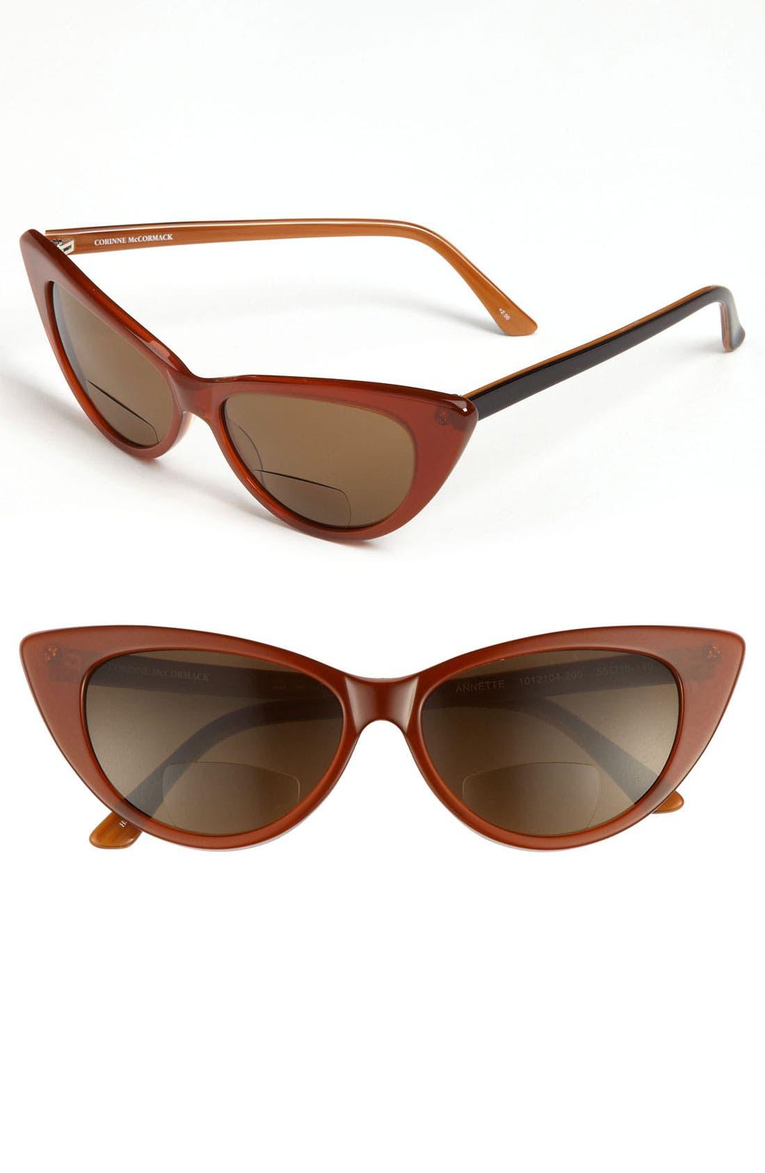 Alternate Image 1 Selected - Corinne McCormack Bifocal Reading Sunglasses