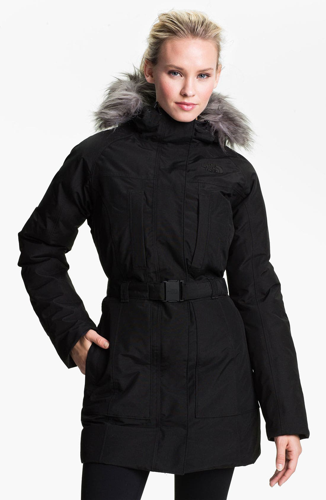 Alternate Image 1 Selected - The North Face 'Brooklyn' Down Jacket