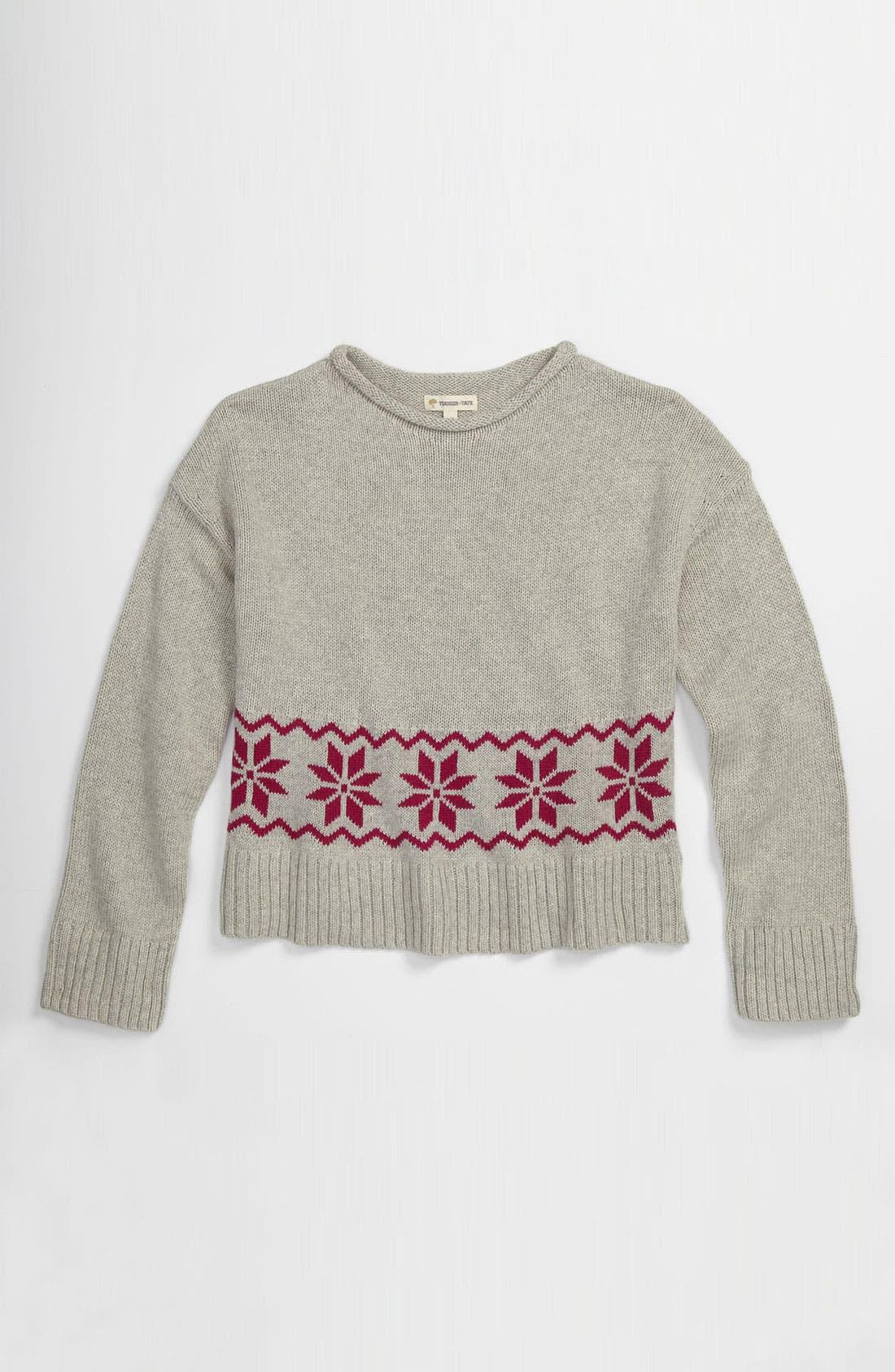 Main Image - Tucker + Tate 'Lydia' Sweater (Big Girls)