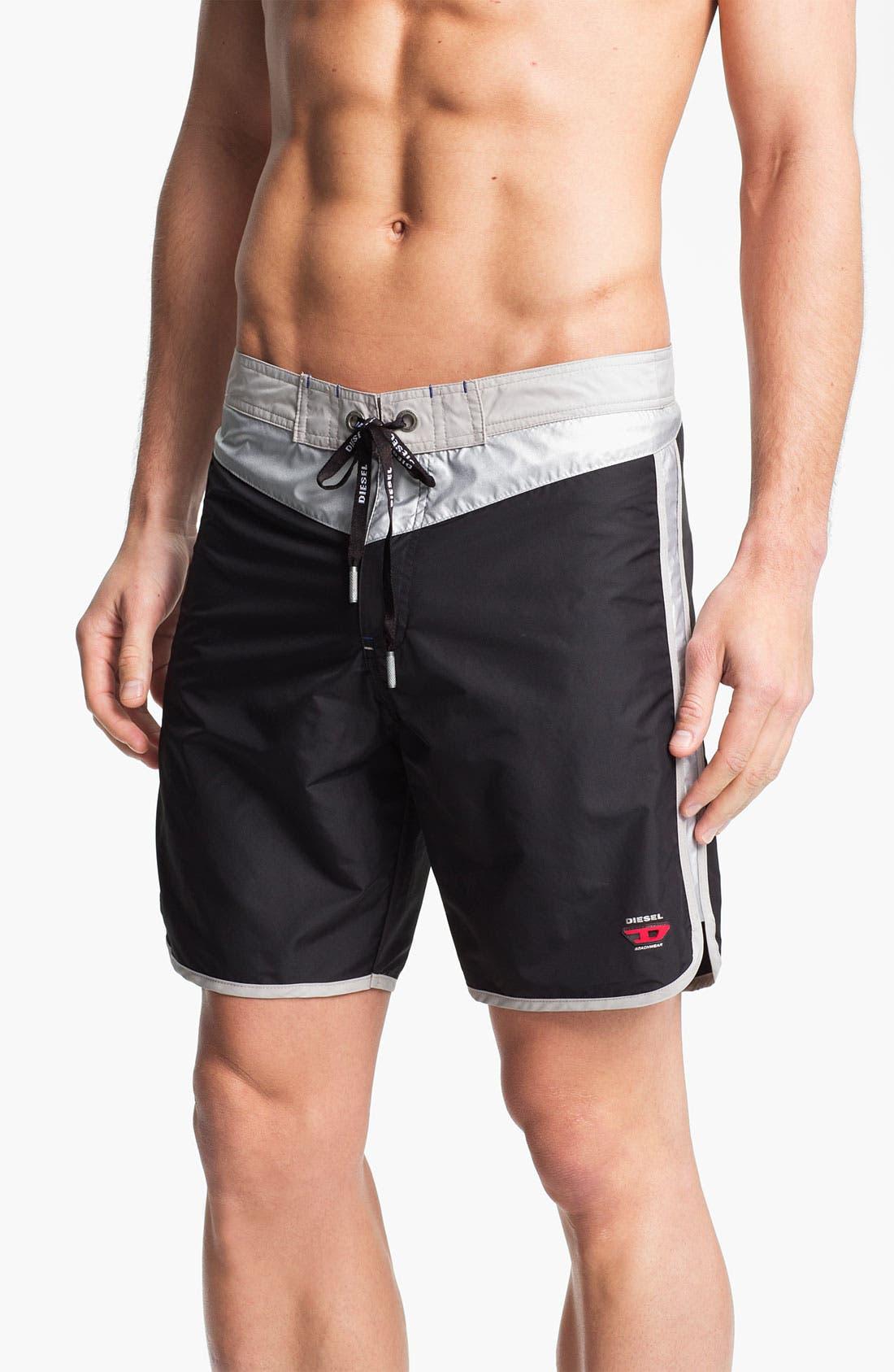 Alternate Image 1 Selected - DIESEL® 'Blans-F' Board Shorts