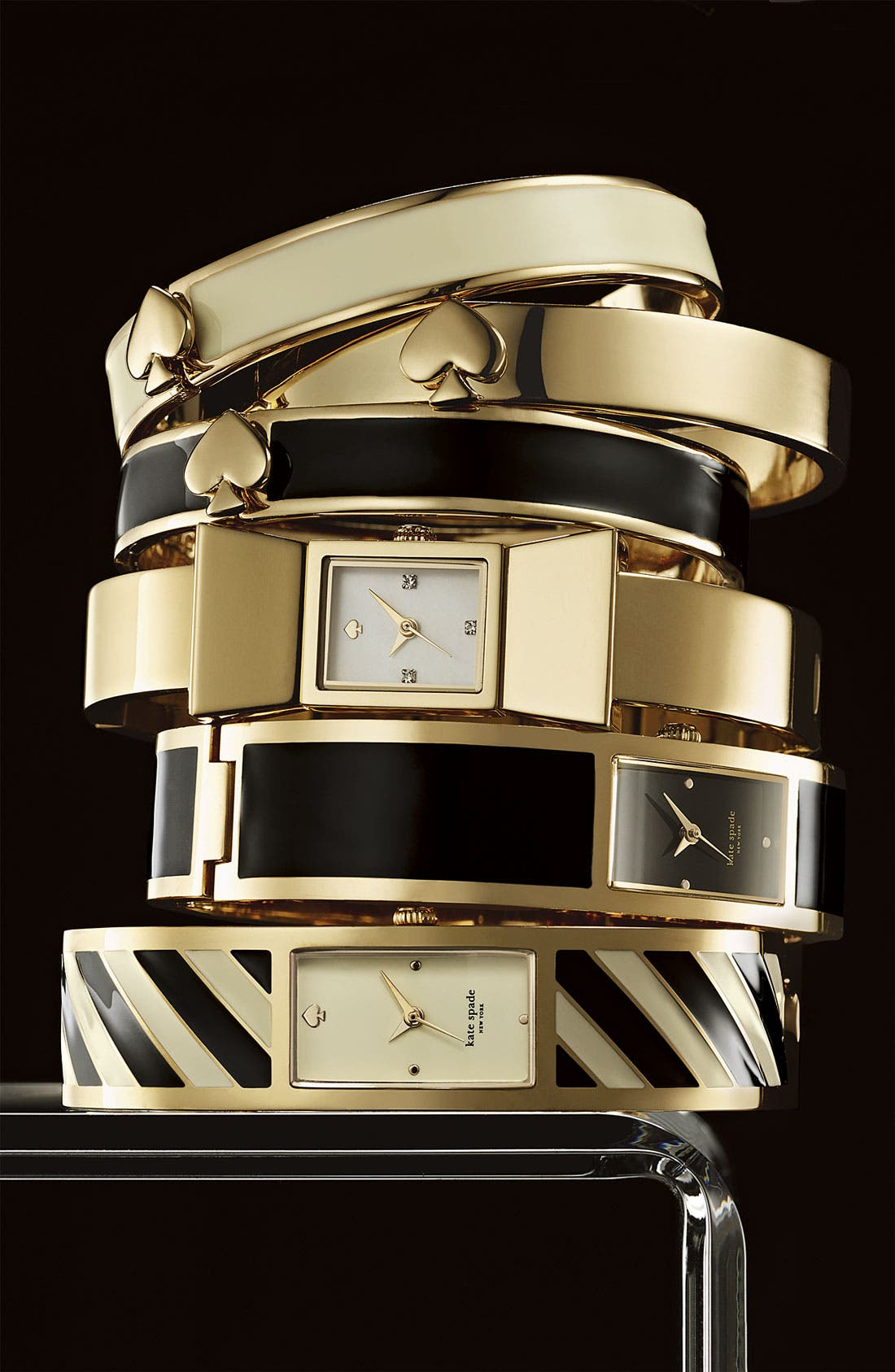 Alternate Image 2  - kate spade new york 'spade' hinged bangle