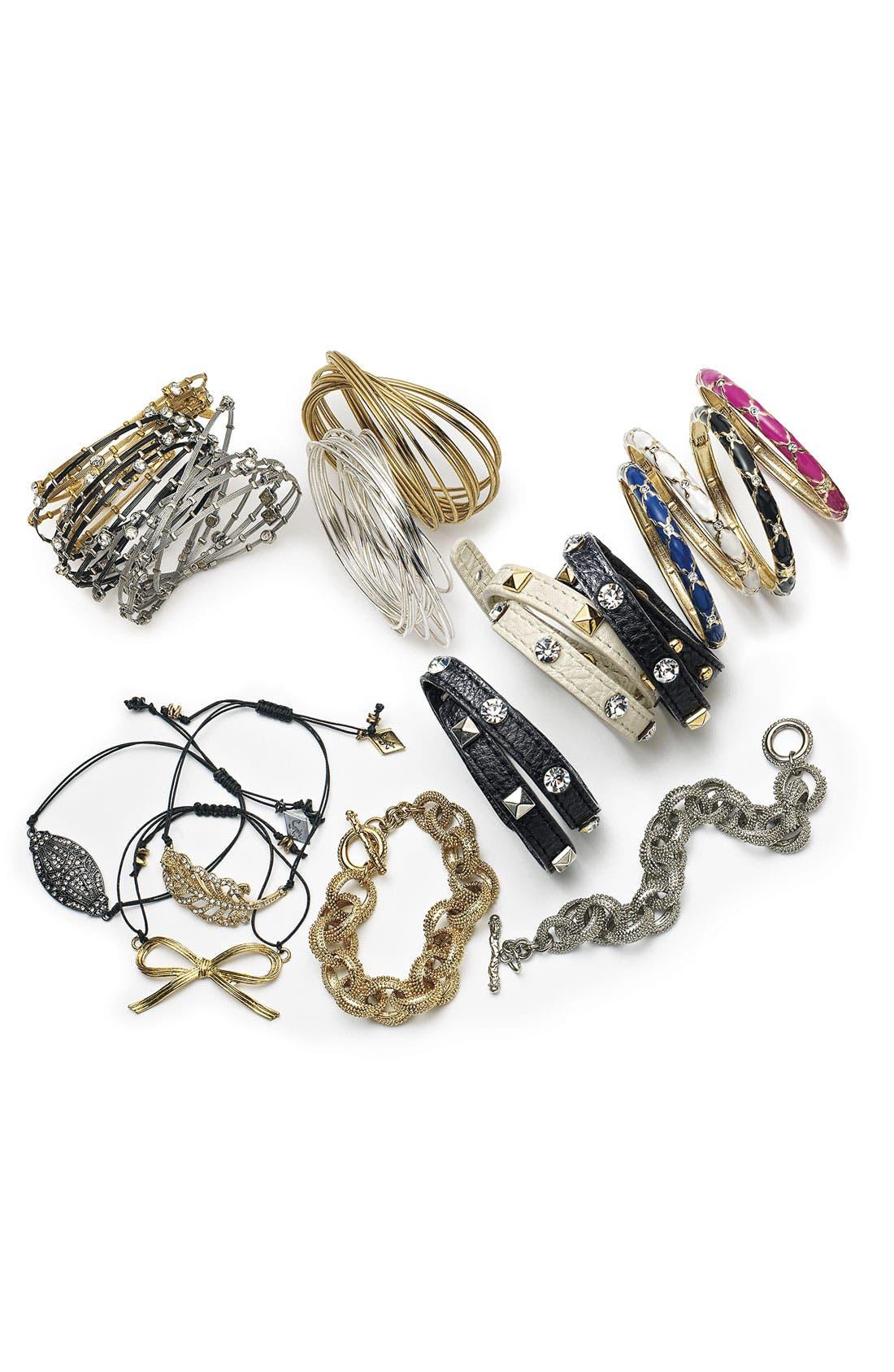 Alternate Image 2  - Sequin 'Deco' Friendship Bracelet