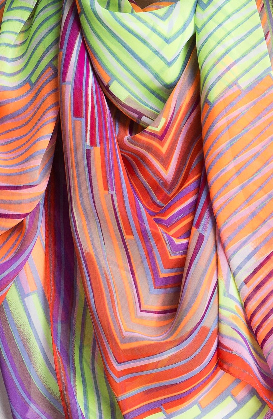 Alternate Image 2  - Collection XIIX 'Vortex' Stripe Scarf