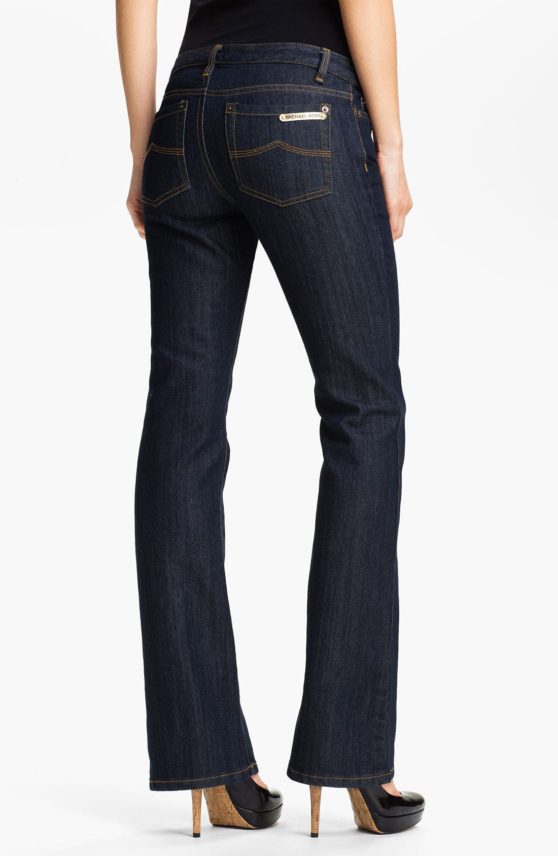 Alternate Image 2  - MICHAEL Michael Kors 'Sausalito' Bootcut Stretch Jeans