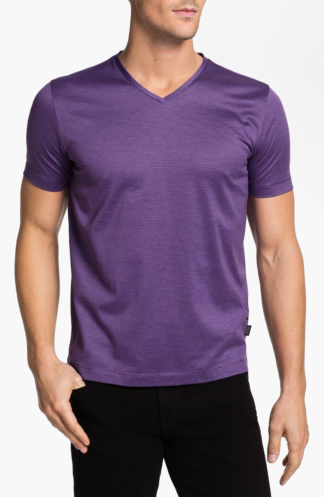 Alternate Image 1 Selected - BOSS HUGO BOSS 'Eraldo' Regular Fit V-Neck T-Shirt