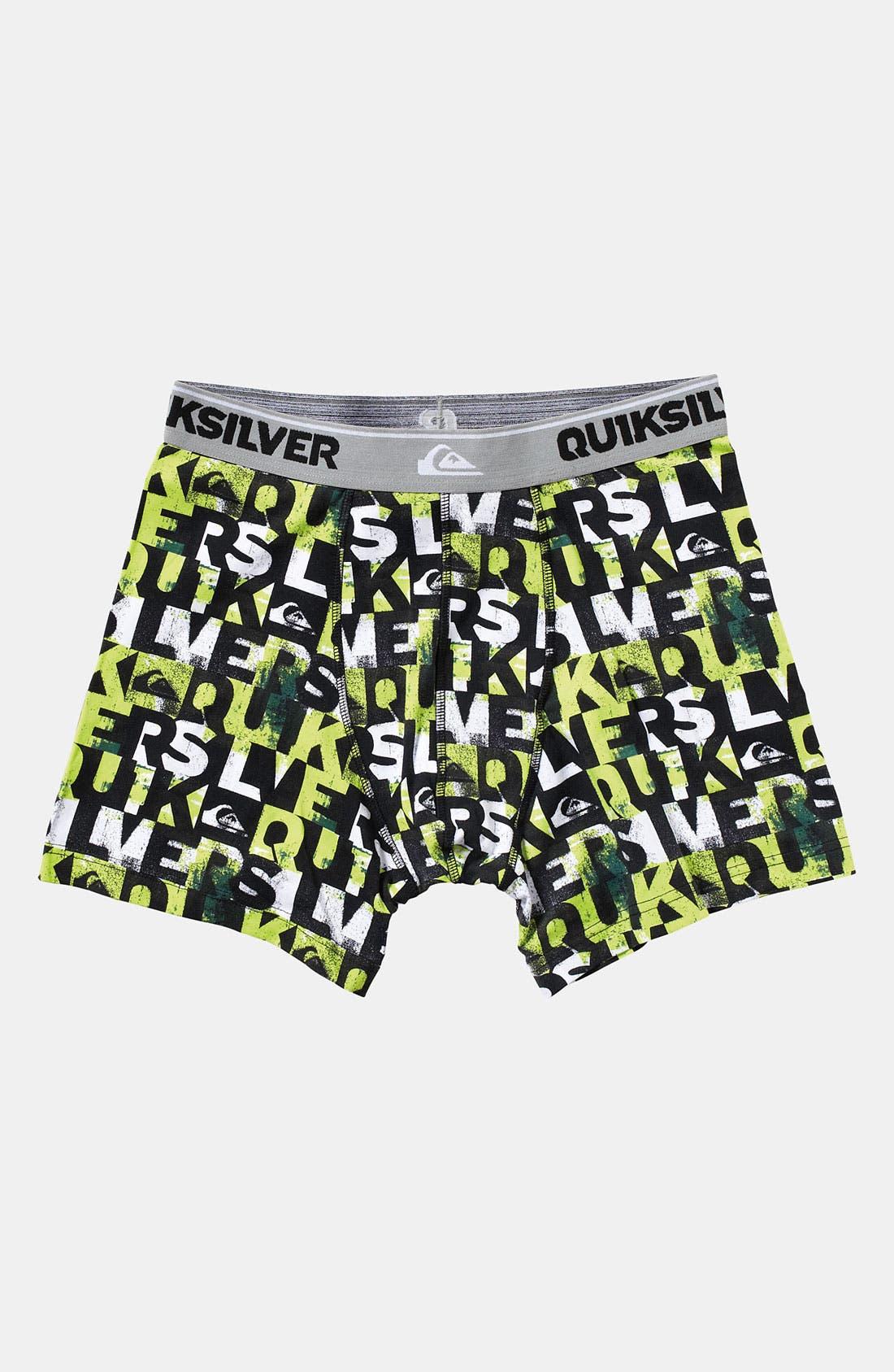 Alternate Image 1 Selected - Quiksilver 'Coconut' Boxer Briefs (Big Boys)