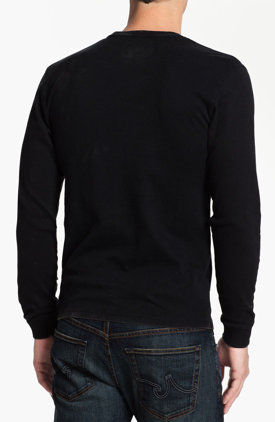 Alternate Image 2  - Red Jacket 'San Francisco Giants - Team City' Long Sleeve T-Shirt