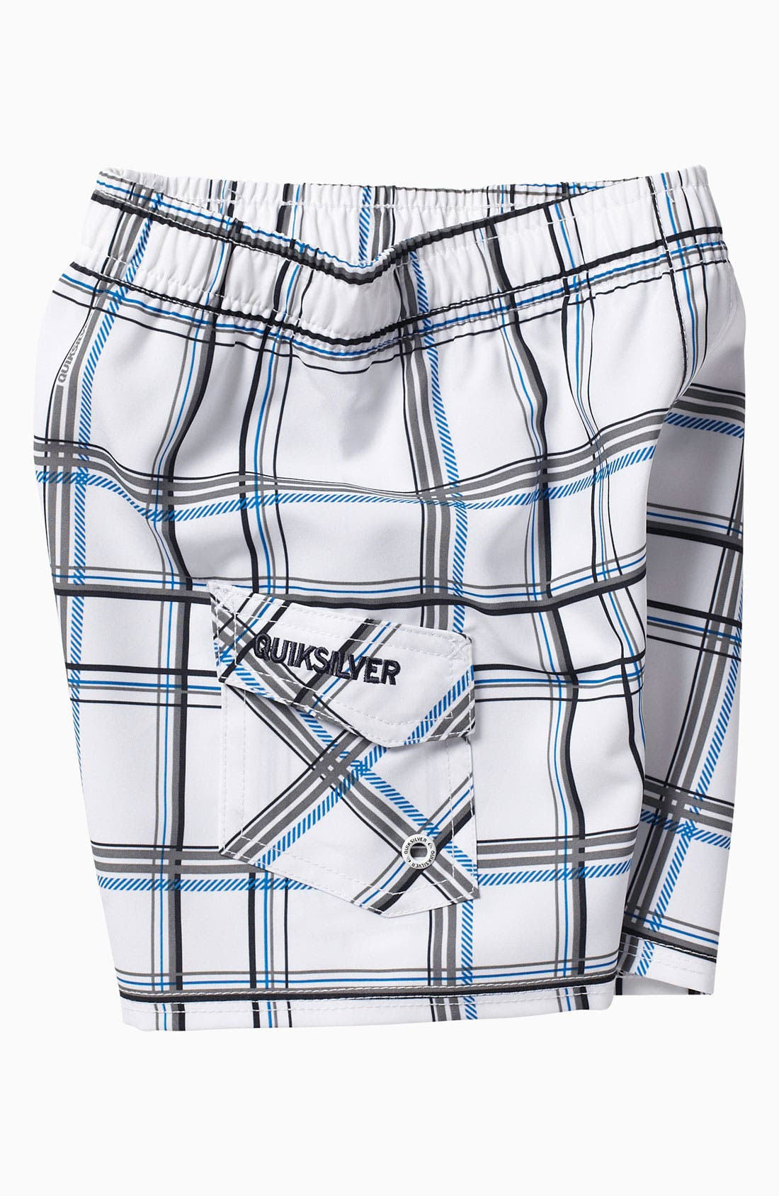 Alternate Image 2  - Quiksilver 'Paid In Full' Volley Swim Shorts (Little Boys)