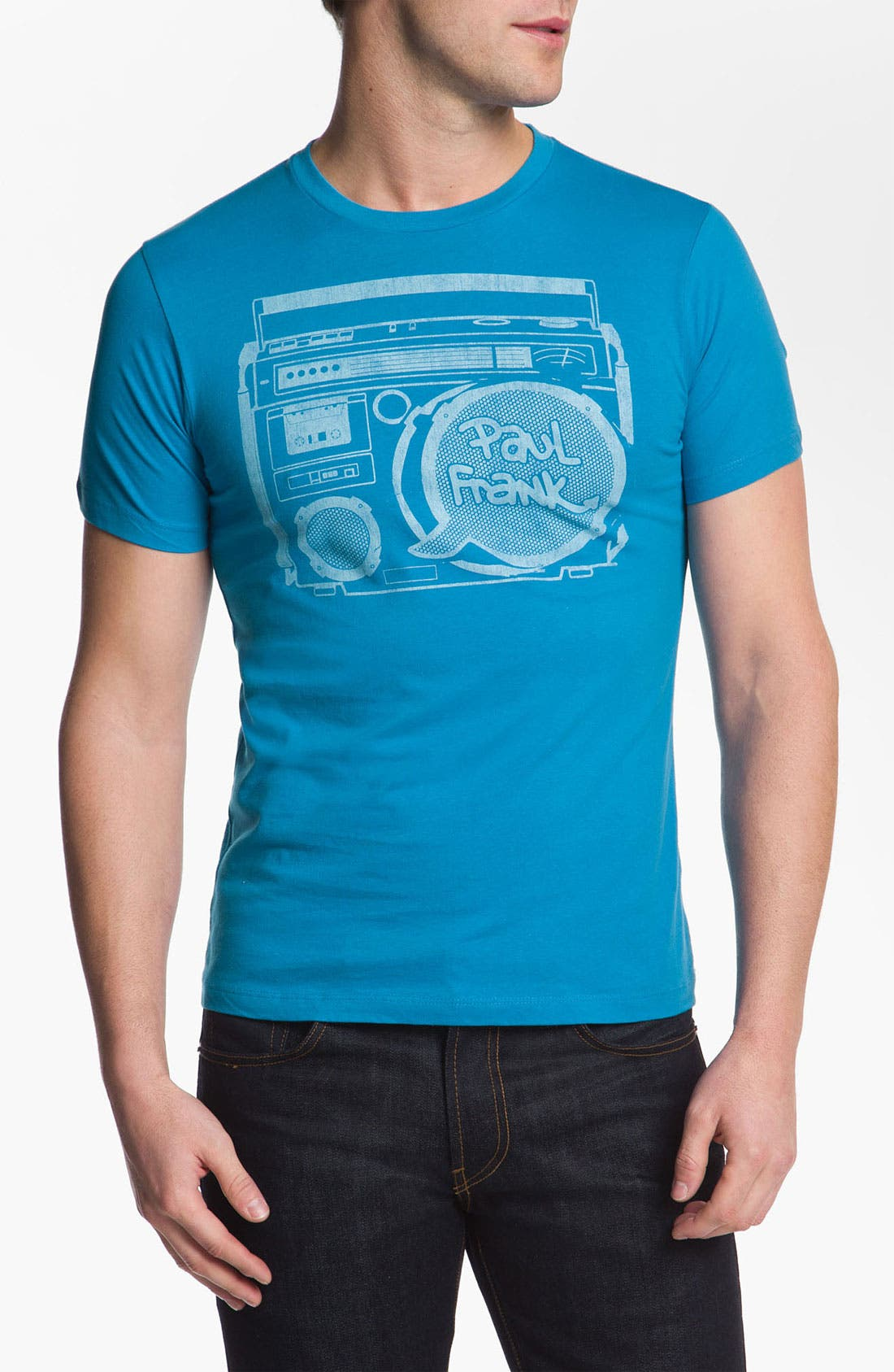 Alternate Image 1 Selected - Topless 'Boom Box' Graphic T-Shirt