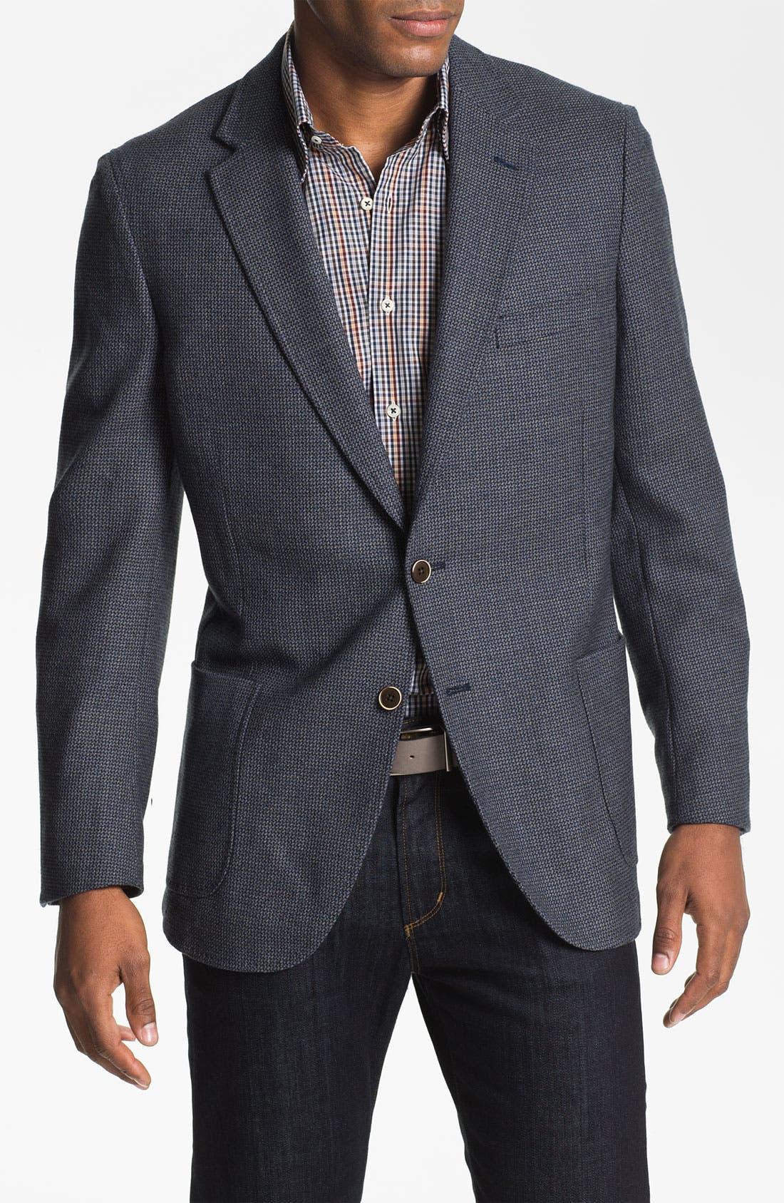 Alternate Image 1 Selected - Peter Millar Wool Sportcoat