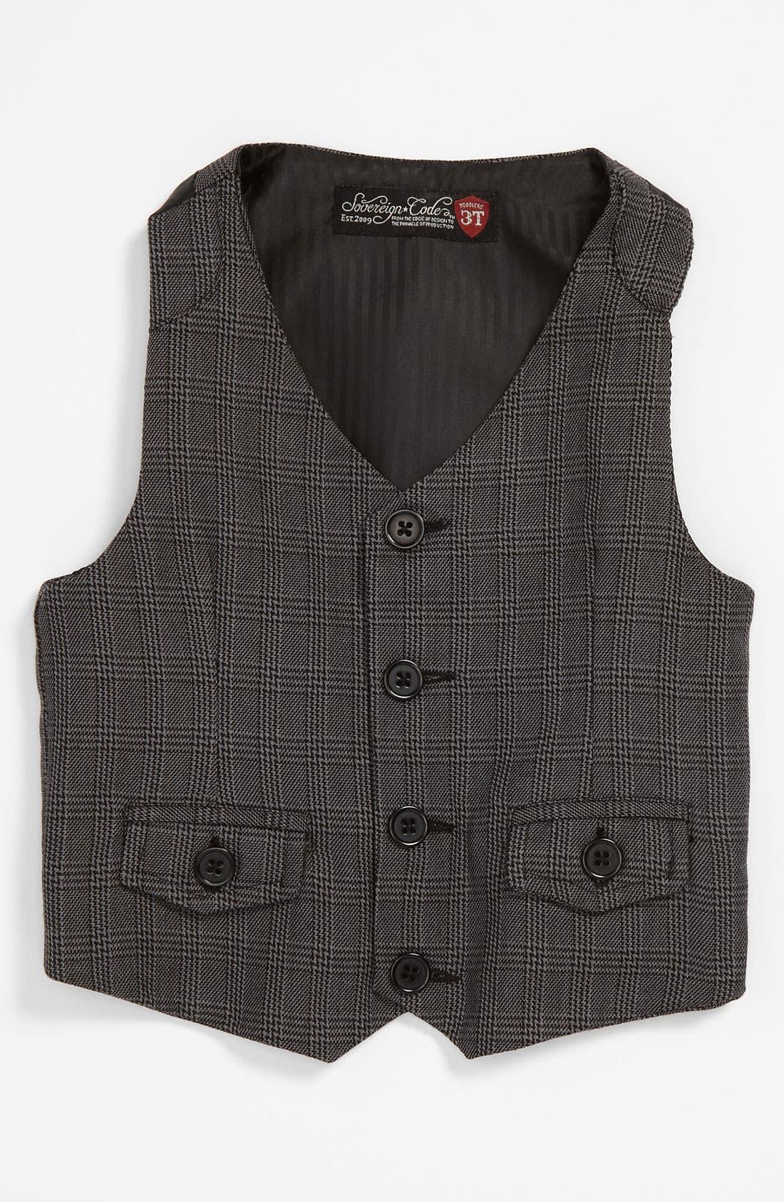 Alternate Image 1 Selected - Sovereign Code 'Tate' Vest (Toddler)