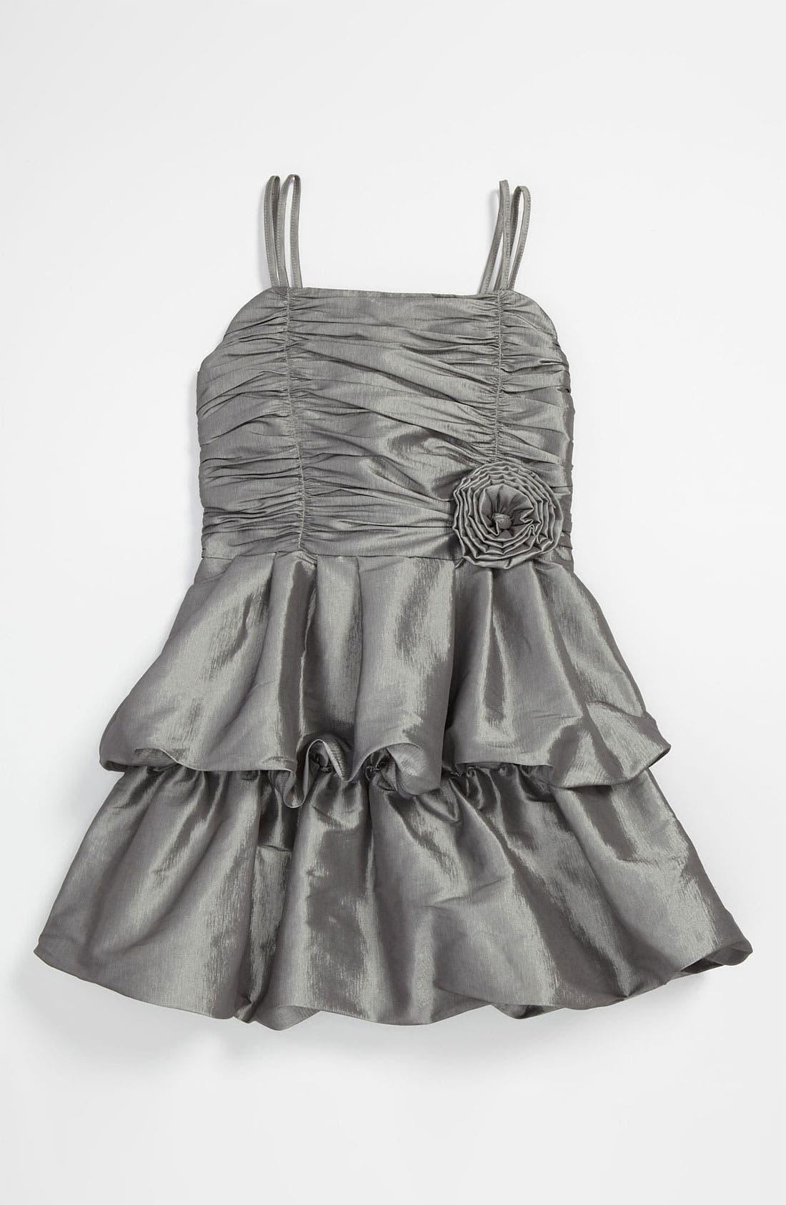 Alternate Image 1 Selected - Dorissa 'Carolyn' Taffeta Dress (Big Girls)