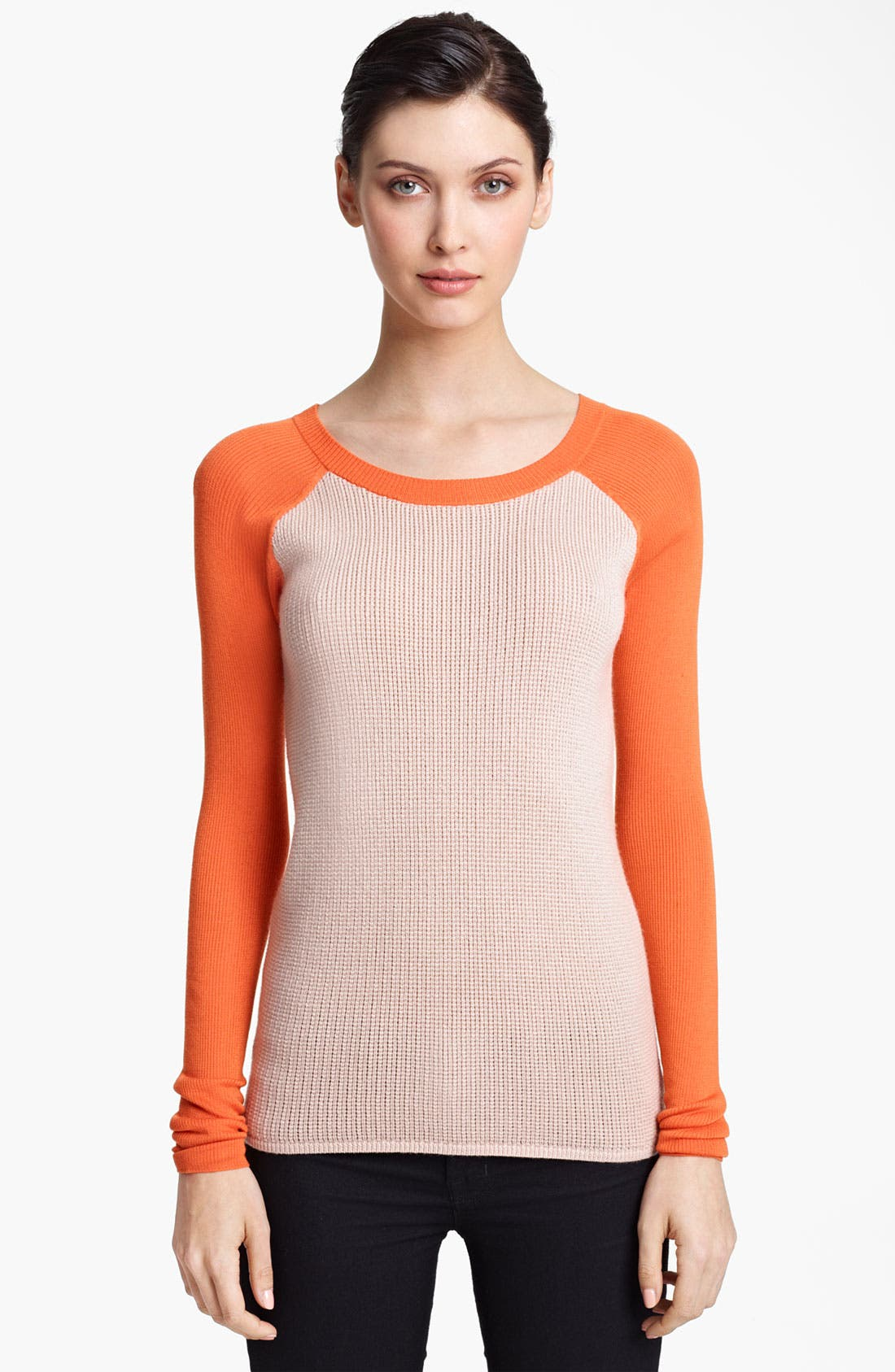 Alternate Image 1 Selected - Reed Krakoff Knit Baseball Sweater