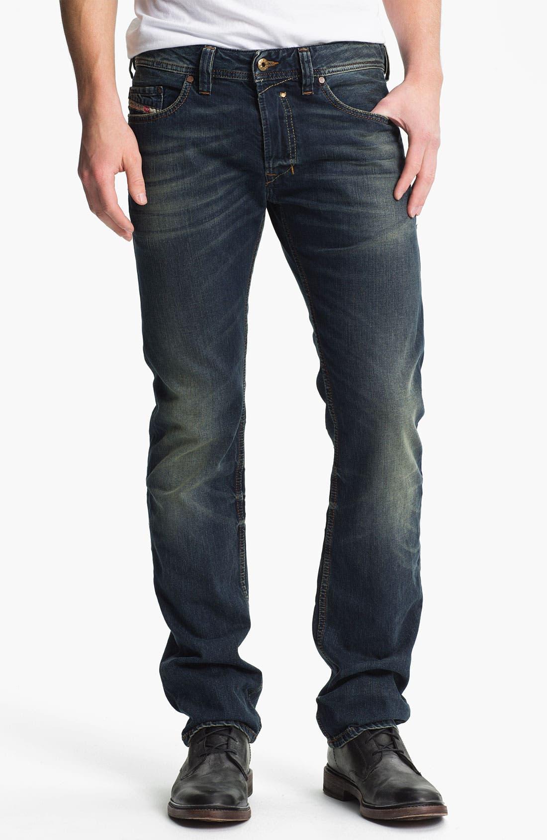 Alternate Image 2  - DIESEL® 'Safado' Straight Leg Jeans (0807U)