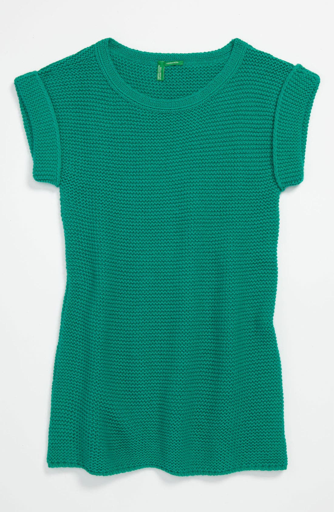 Alternate Image 1 Selected - United Colors of Benetton Kids Sweater Dress (Little Girls & Big Girls)