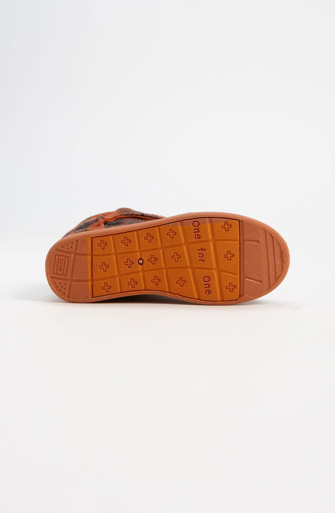 Alternate Image 4  - TOMS 'Botas' Woolen Boot (Baby, Walker & Toddler)