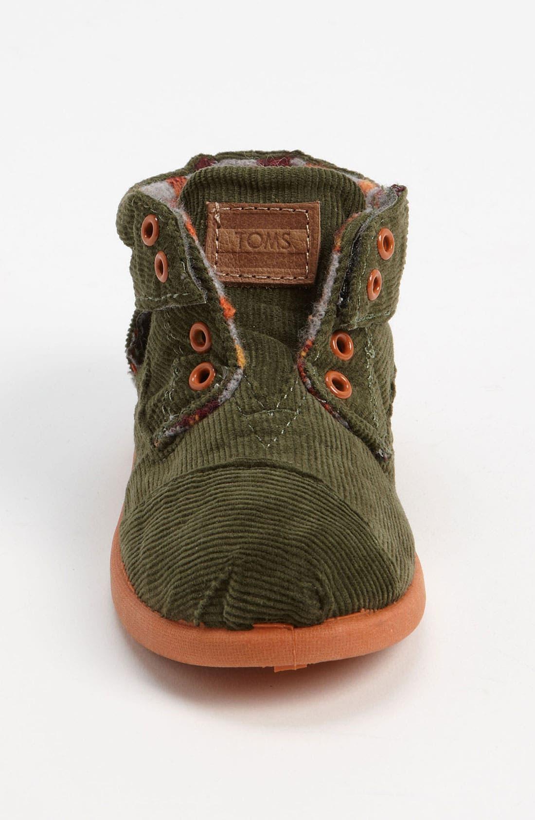Alternate Image 3  - TOMS 'Botas' Corduroy Boot (Baby, Walker & Toddler)