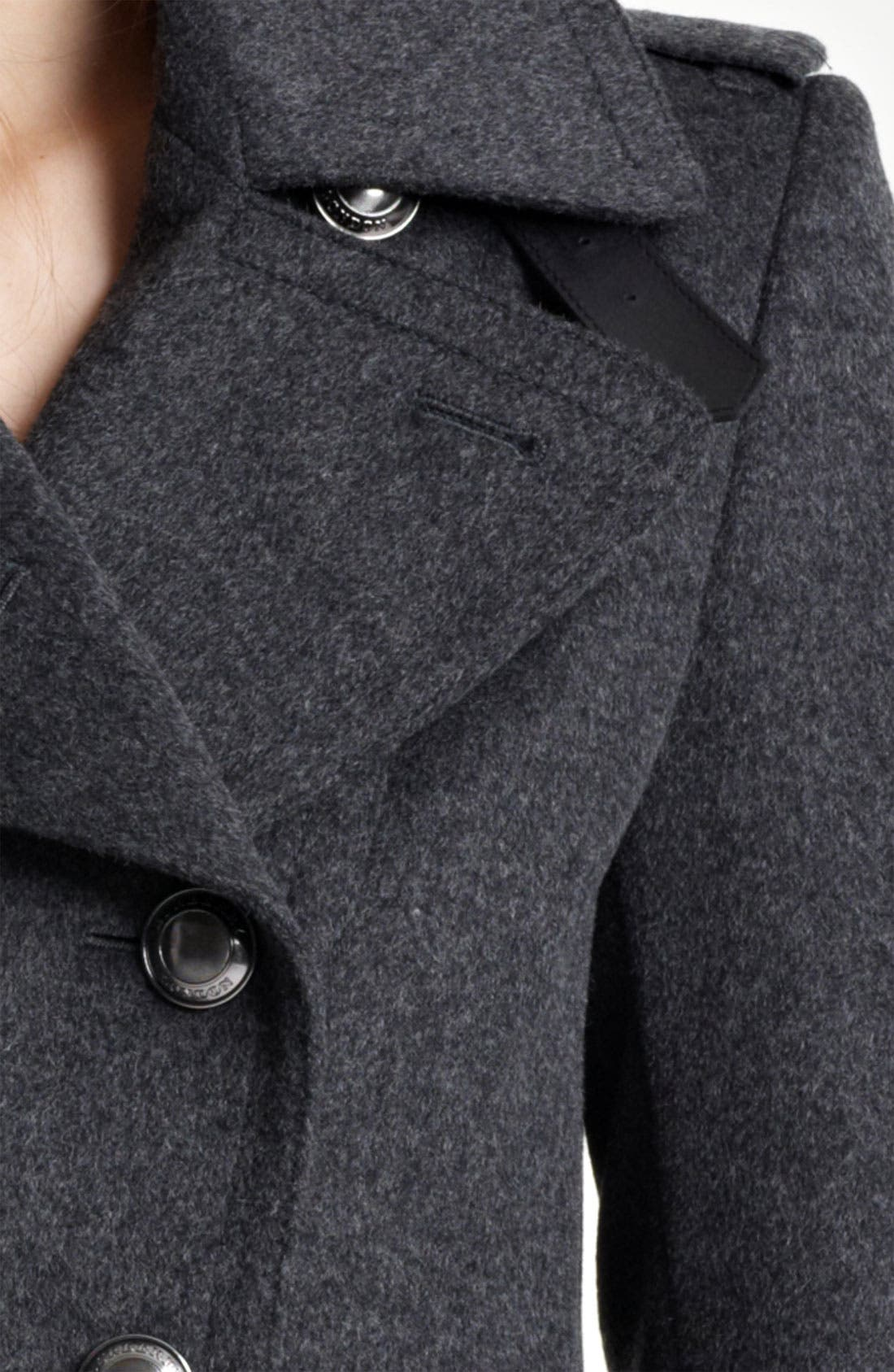 Alternate Image 3  - Burberry London Wool & Cashmere Jacket
