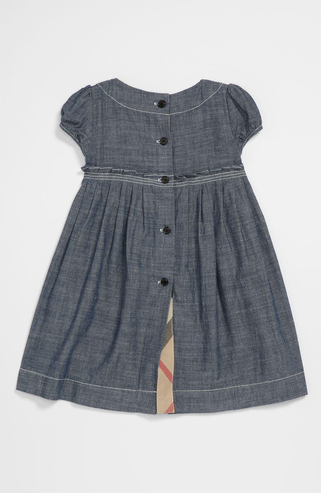 Alternate Image 2  - Burberry 'Coralie' Dress (Infant)