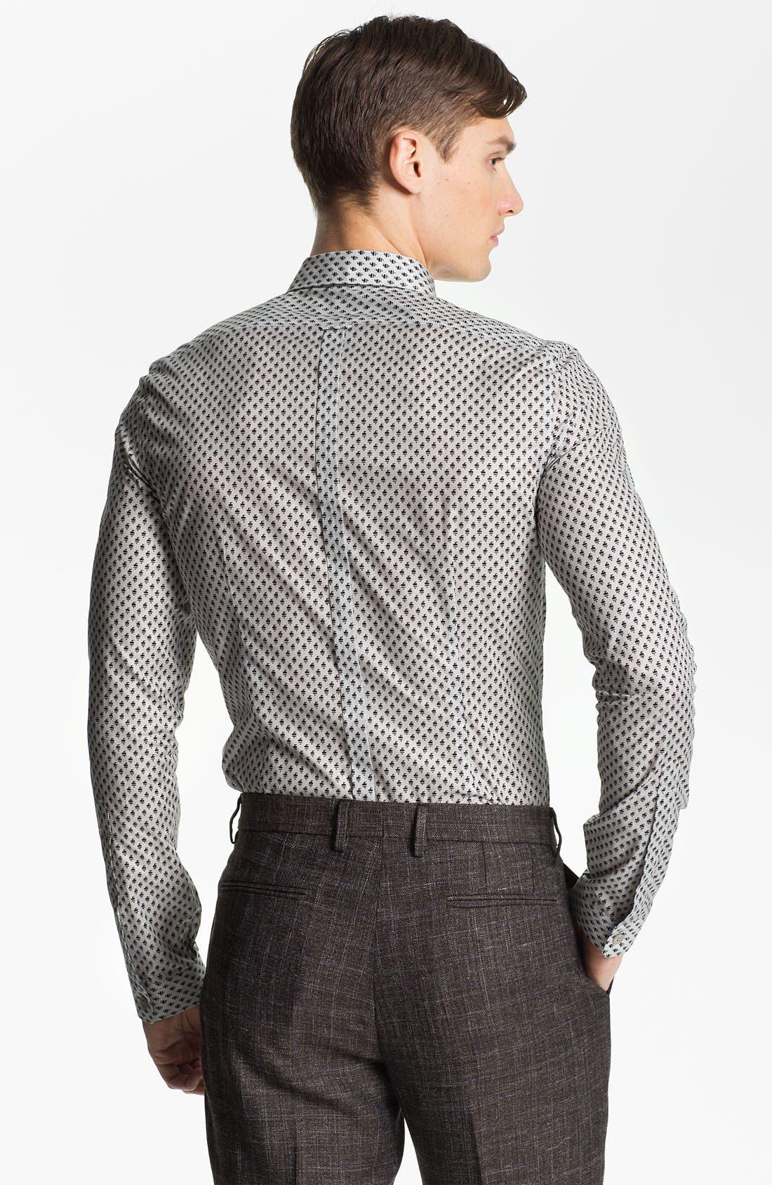 Alternate Image 2  - Burberry Prorsum Geometric Fawn Print Shirt