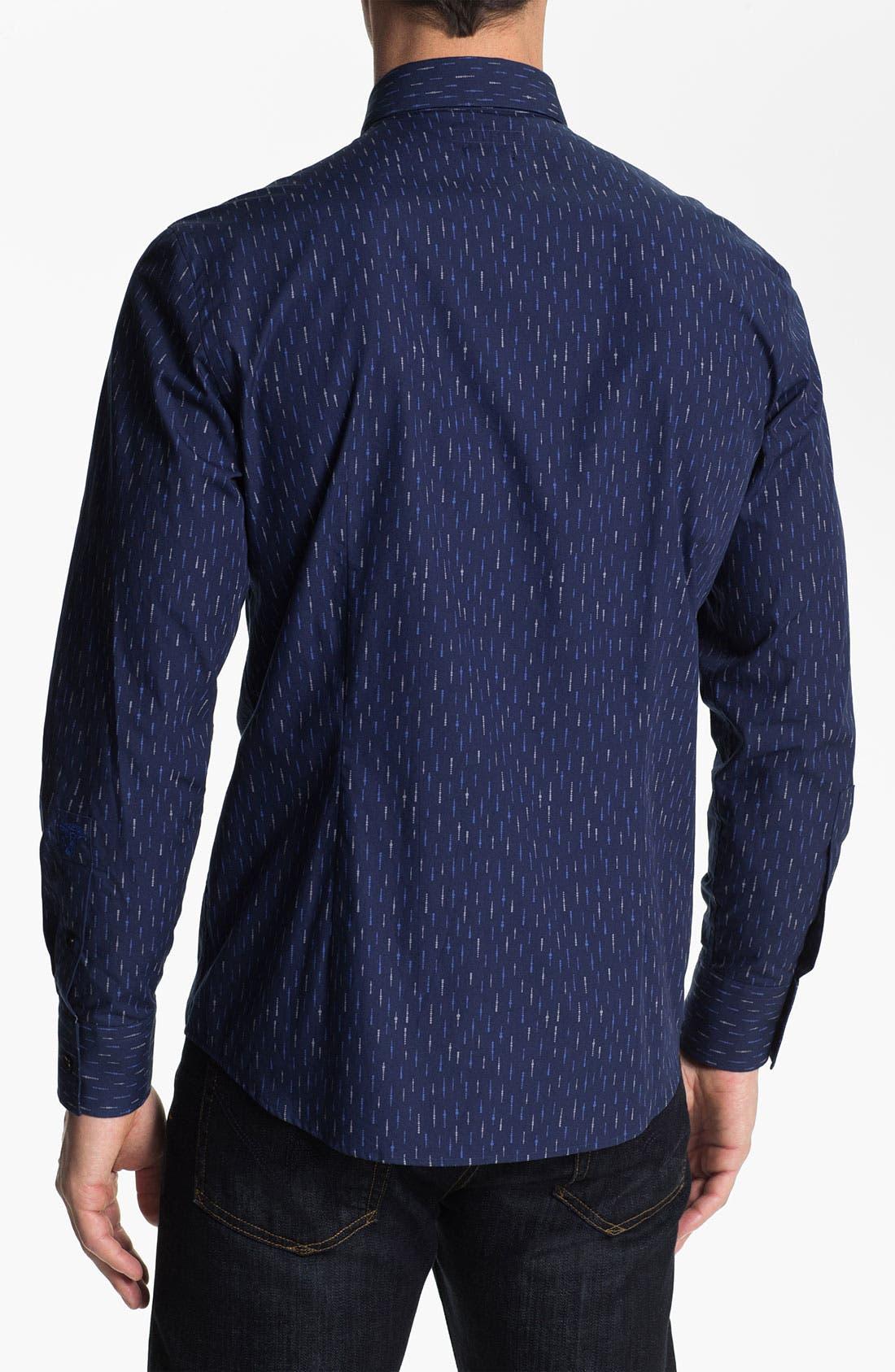 Alternate Image 2  - Versace Trim Fit Sport Shirt