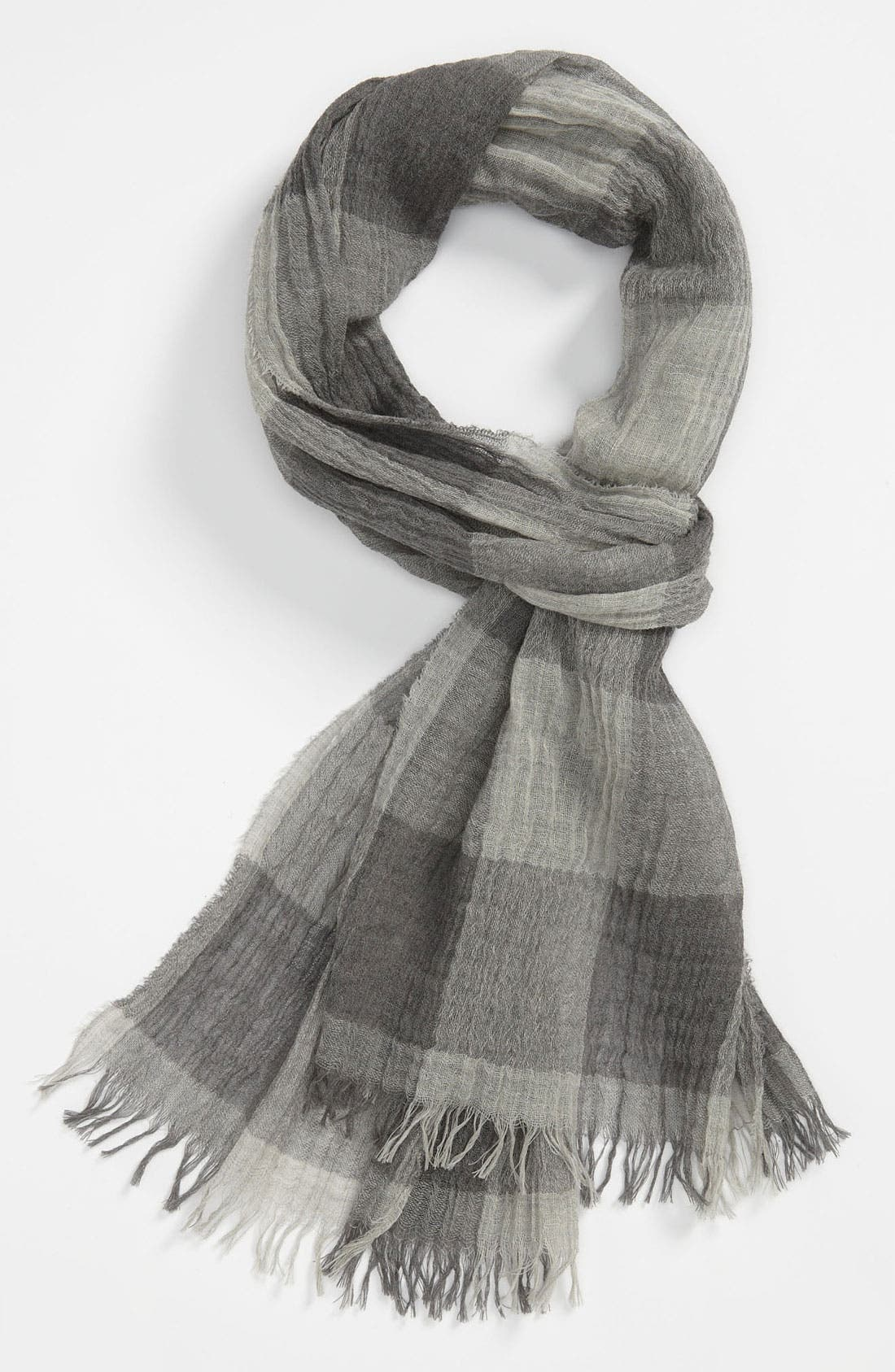 Main Image - rag & bone Buffalo Plaid Wool Scarf