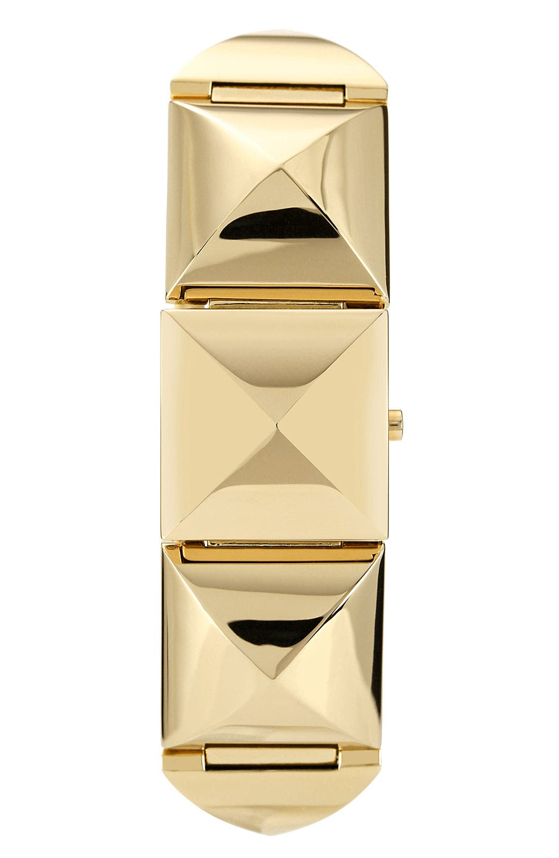 Alternate Image 2  - Vince Camuto Pyramid Station Bracelet Watch, 25mm