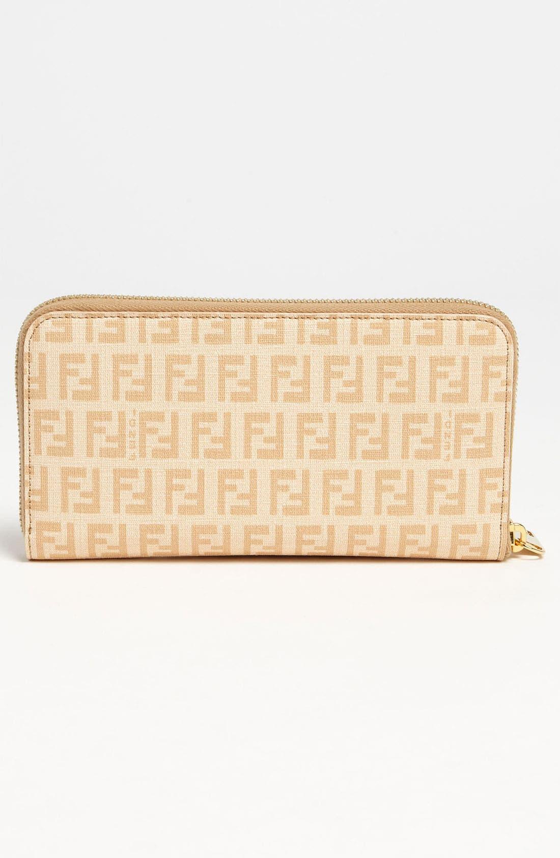 Alternate Image 4  - Fendi 'Forever' Zip Around Wallet