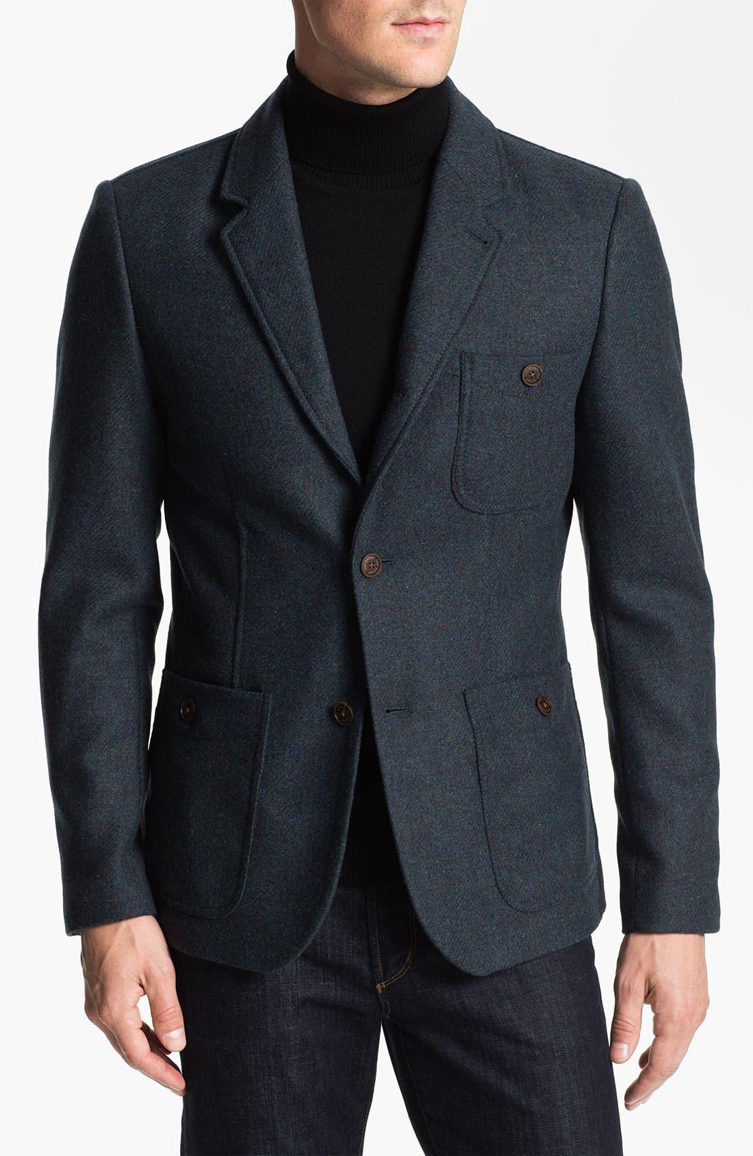 Alternate Image 1 Selected - Ted Baker London 'Moosh' Wool Blazer