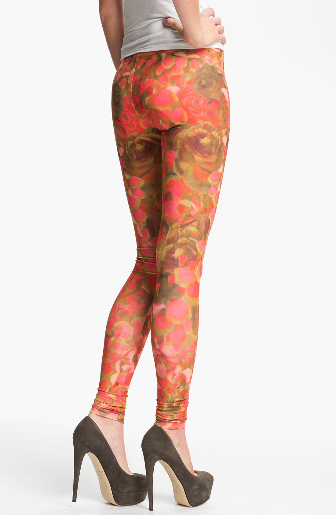 Alternate Image 2  - McQ by Alexander McQueen Print Leggings