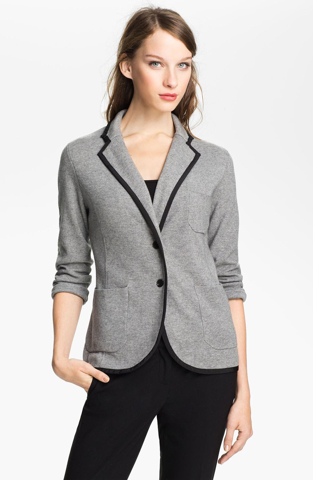 Alternate Image 1 Selected - Vince Camuto 'Milano Stitch' Sweater Jacket