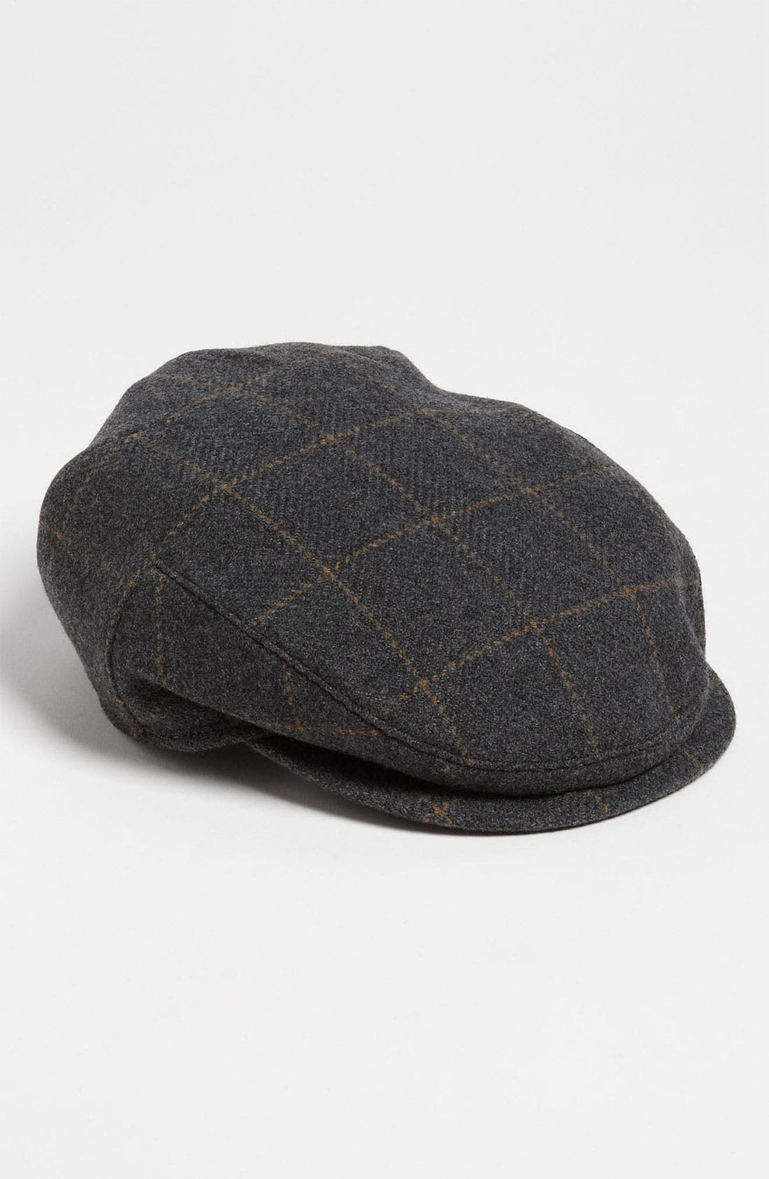 Main Image - Wigens Windowpane Earflap Driving Cap